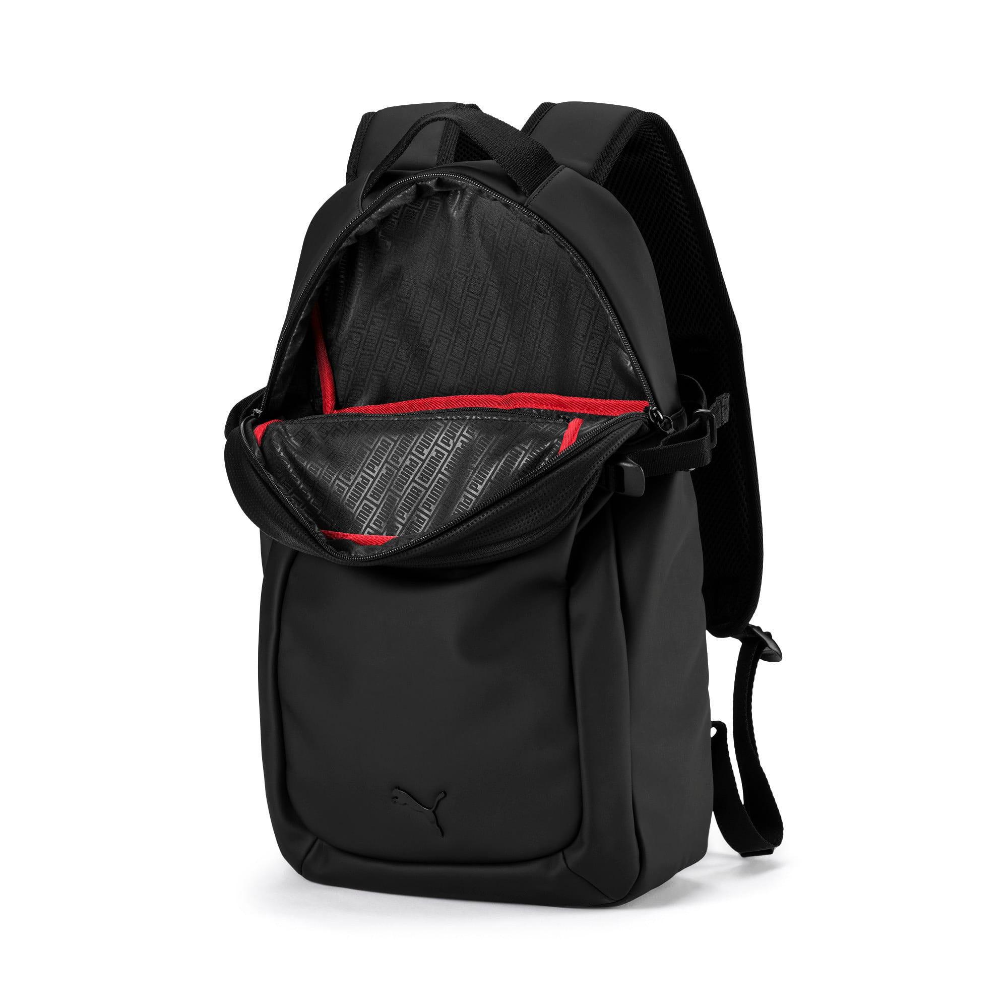 Thumbnail 4 of Ferrari Lifestyle Backpack, Puma Black, medium