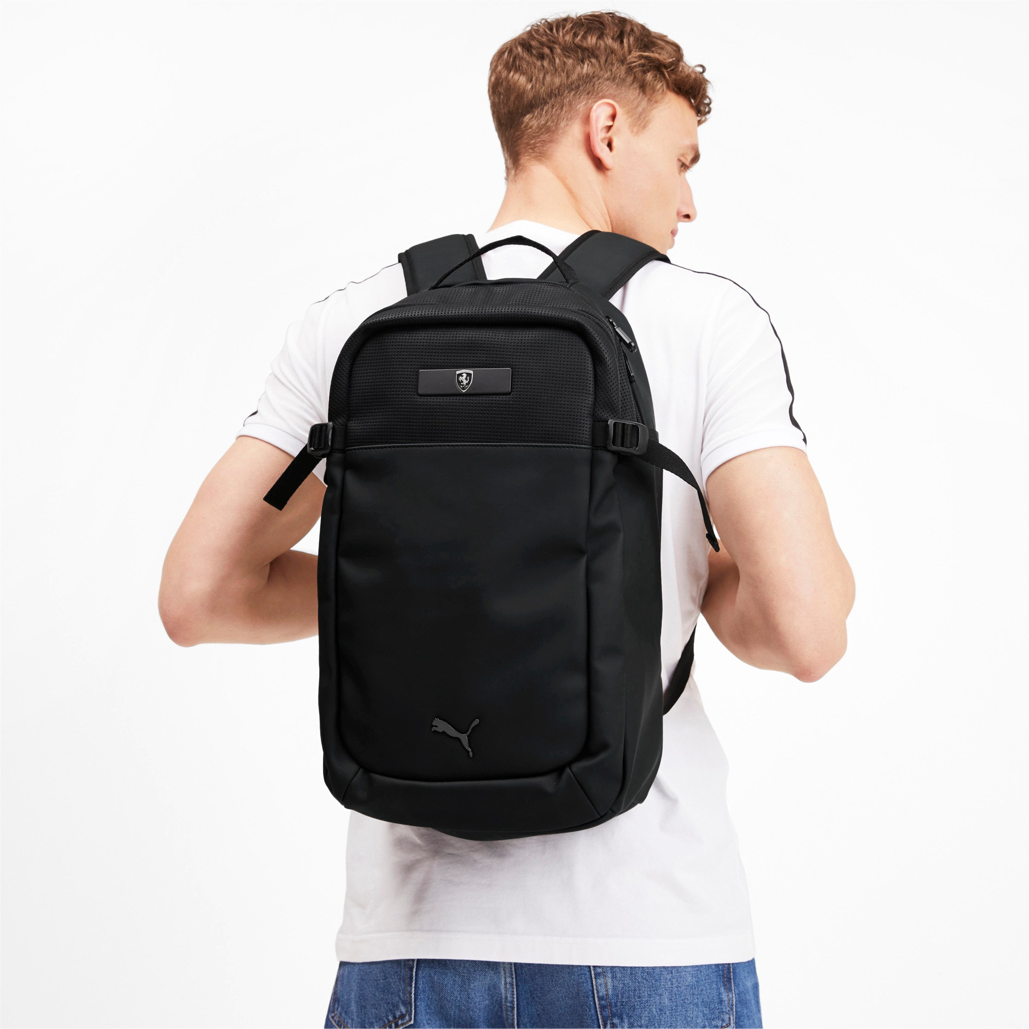 Thumbnail 2 of Ferrari Lifestyle Backpack, Puma Black, medium-IND