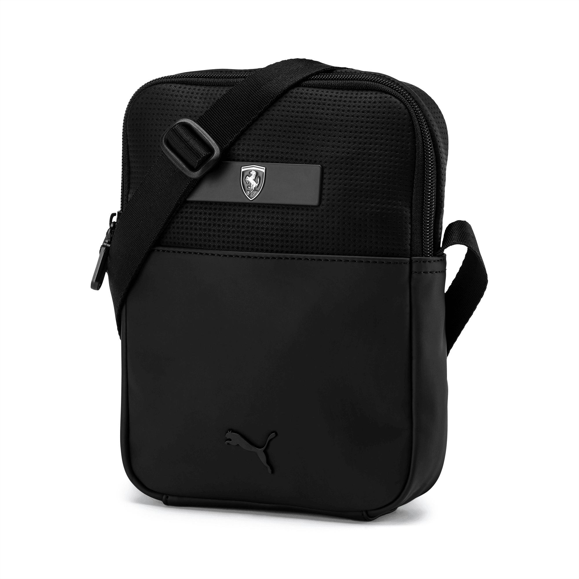 Ferrari Lifestyle Portable Bag, Puma Black, large-SEA