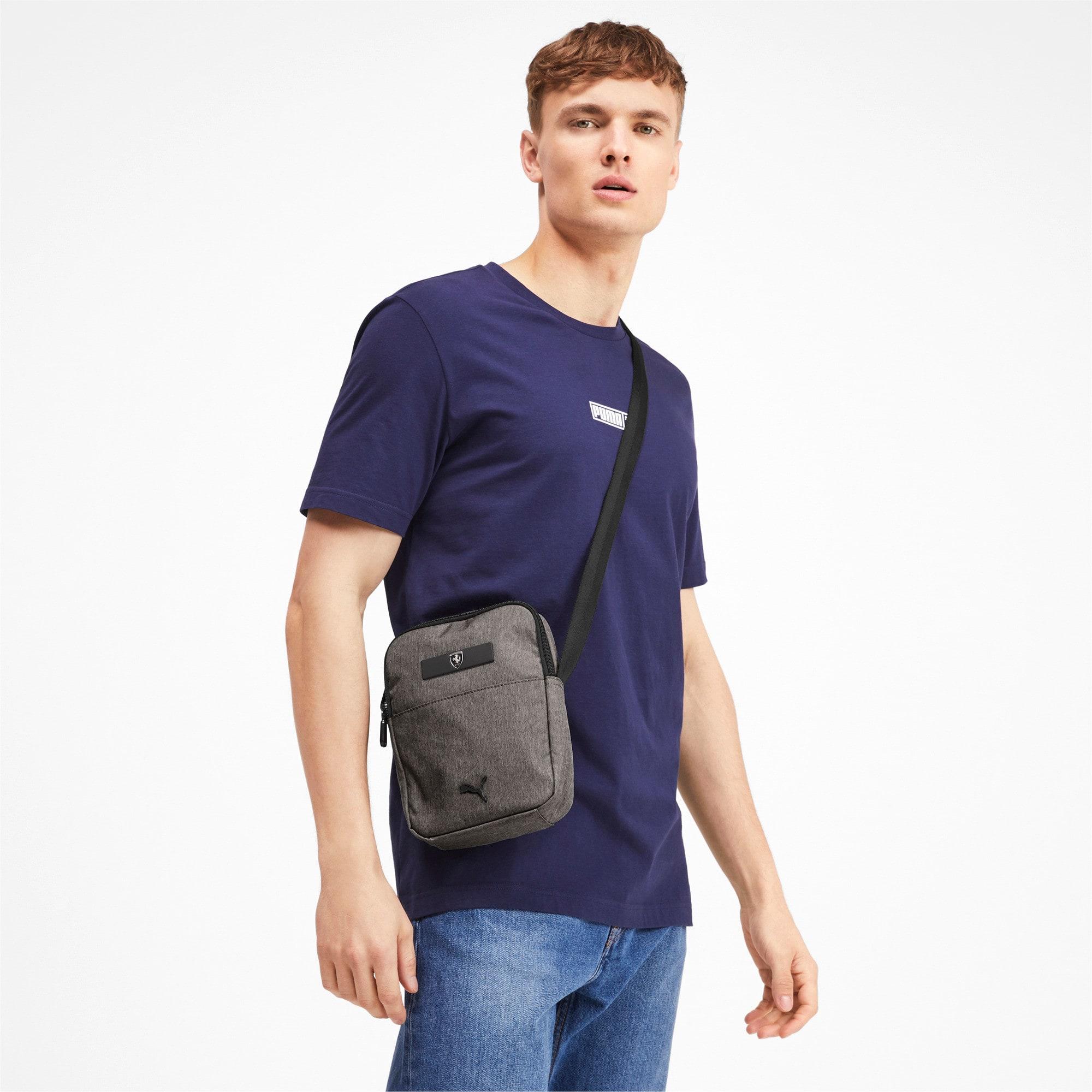 Thumbnail 2 of Ferrari Lifestyle Portable Bag, Charcoal Gray, medium-IND