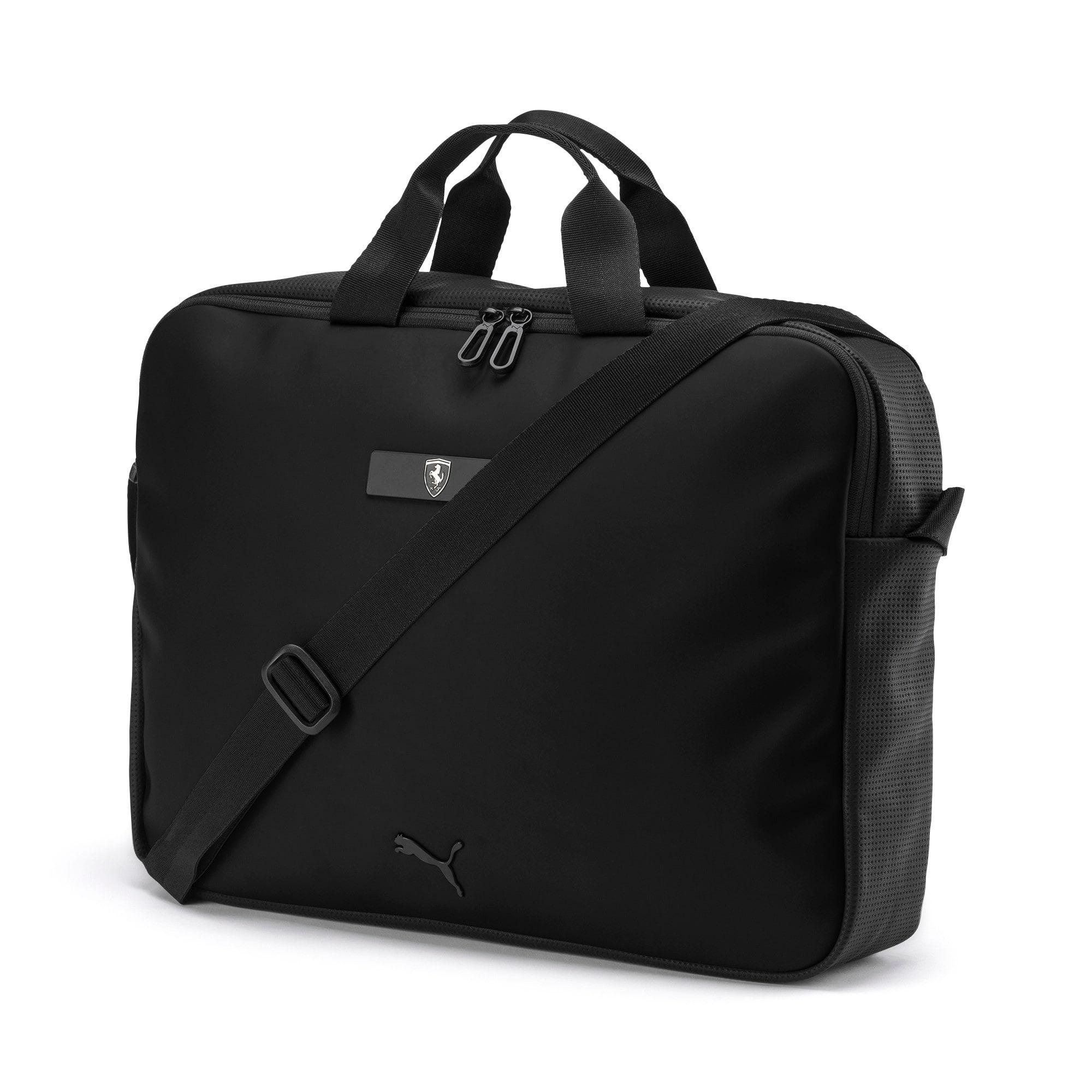 Thumbnail 1 of Ferrari Lifestyle Reporter Bag, Puma Black, medium-IND