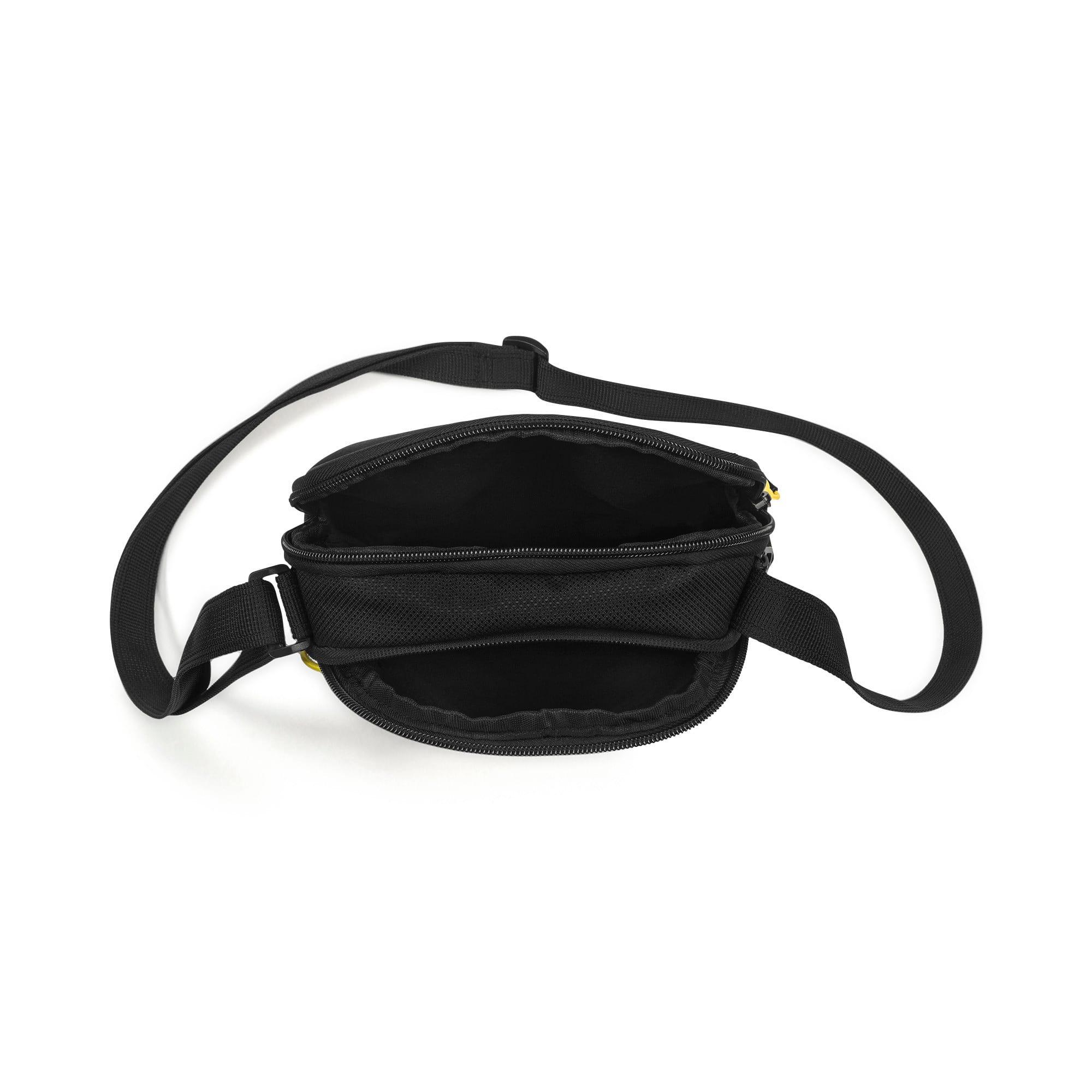 Thumbnail 3 of PUMA x Ferrari Fanware Portable Shoulder Bag, Puma Black, medium-IND