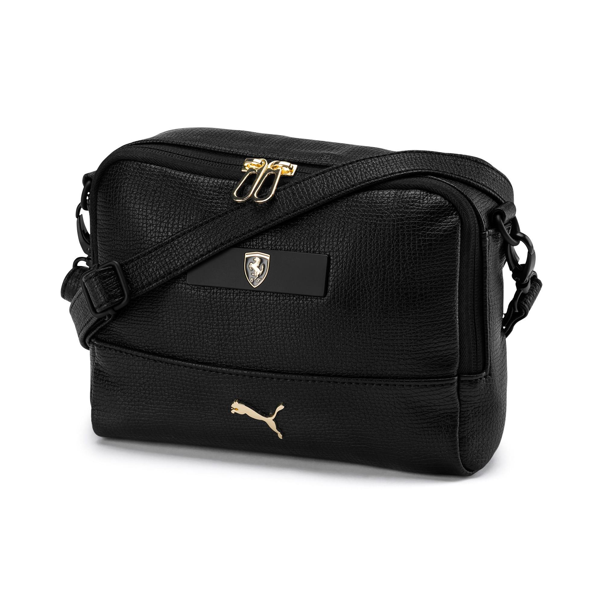 Thumbnail 1 of PUMA x Ferrari Mini Women's handbag, Puma Black, medium-IND