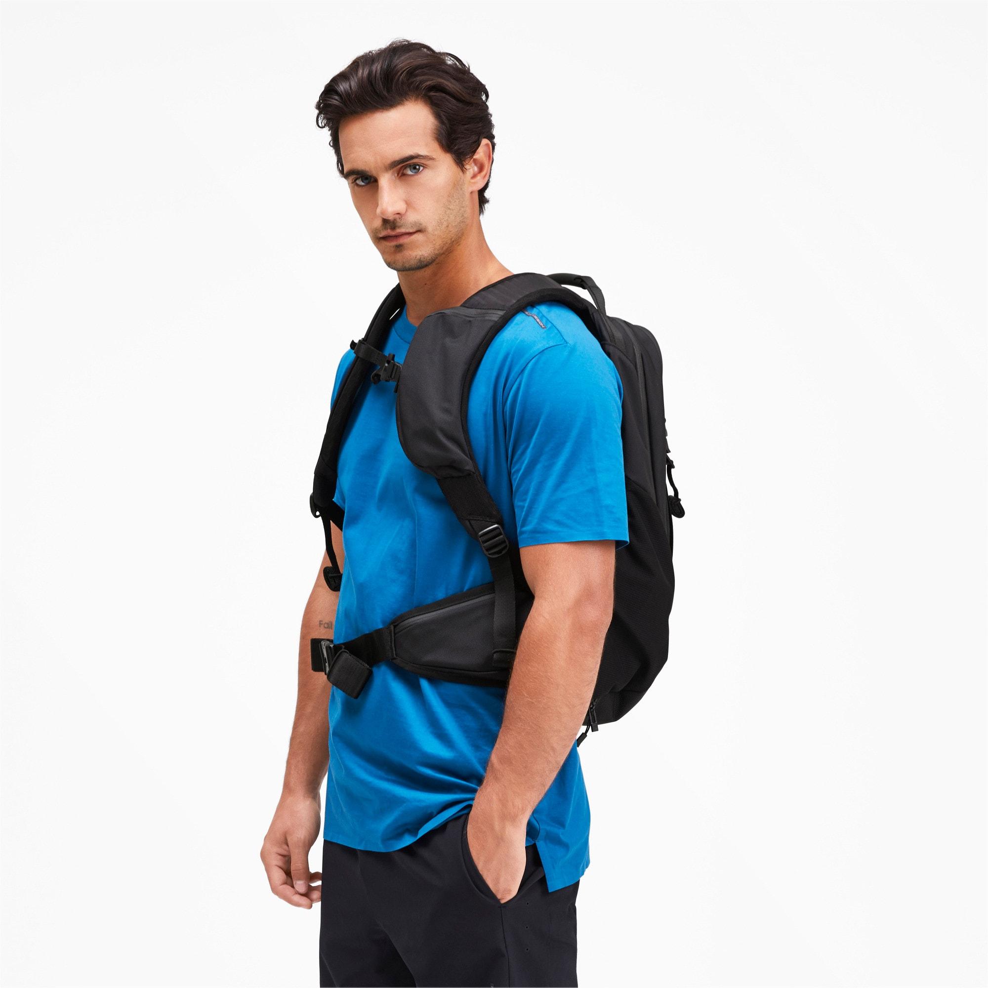 Thumbnail 4 of Porsche Design evoKNIT Active Backpack, Puma Black, medium