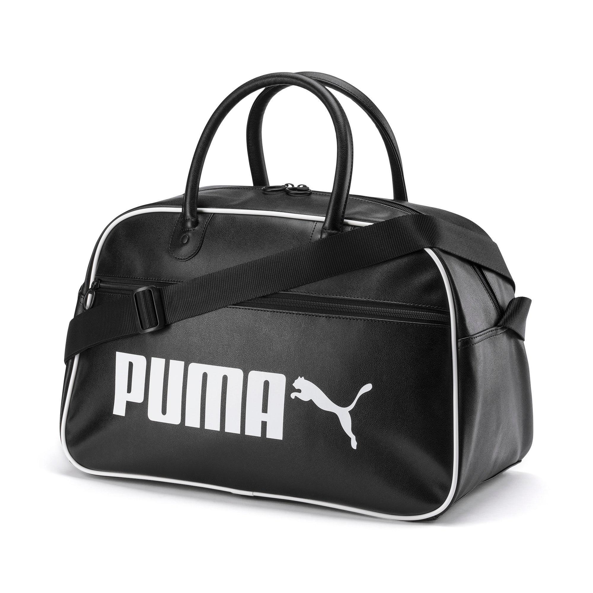 Thumbnail 1 of Campus Retro Grip Bag, Puma Black, medium-IND