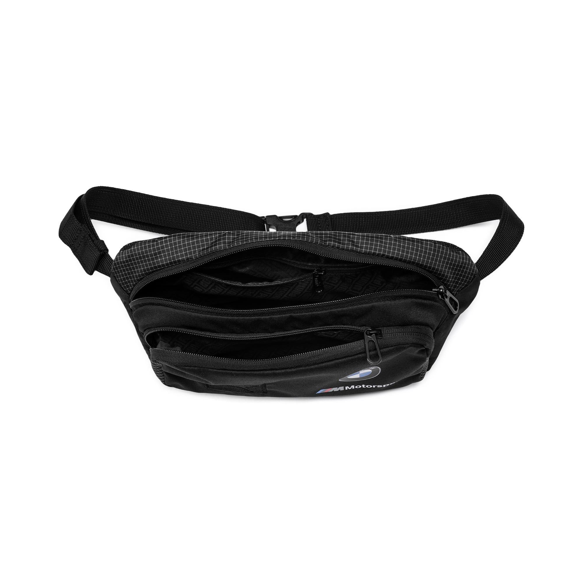 Thumbnail 4 of BMW M Motorsport Waist Bag, Puma Black, medium