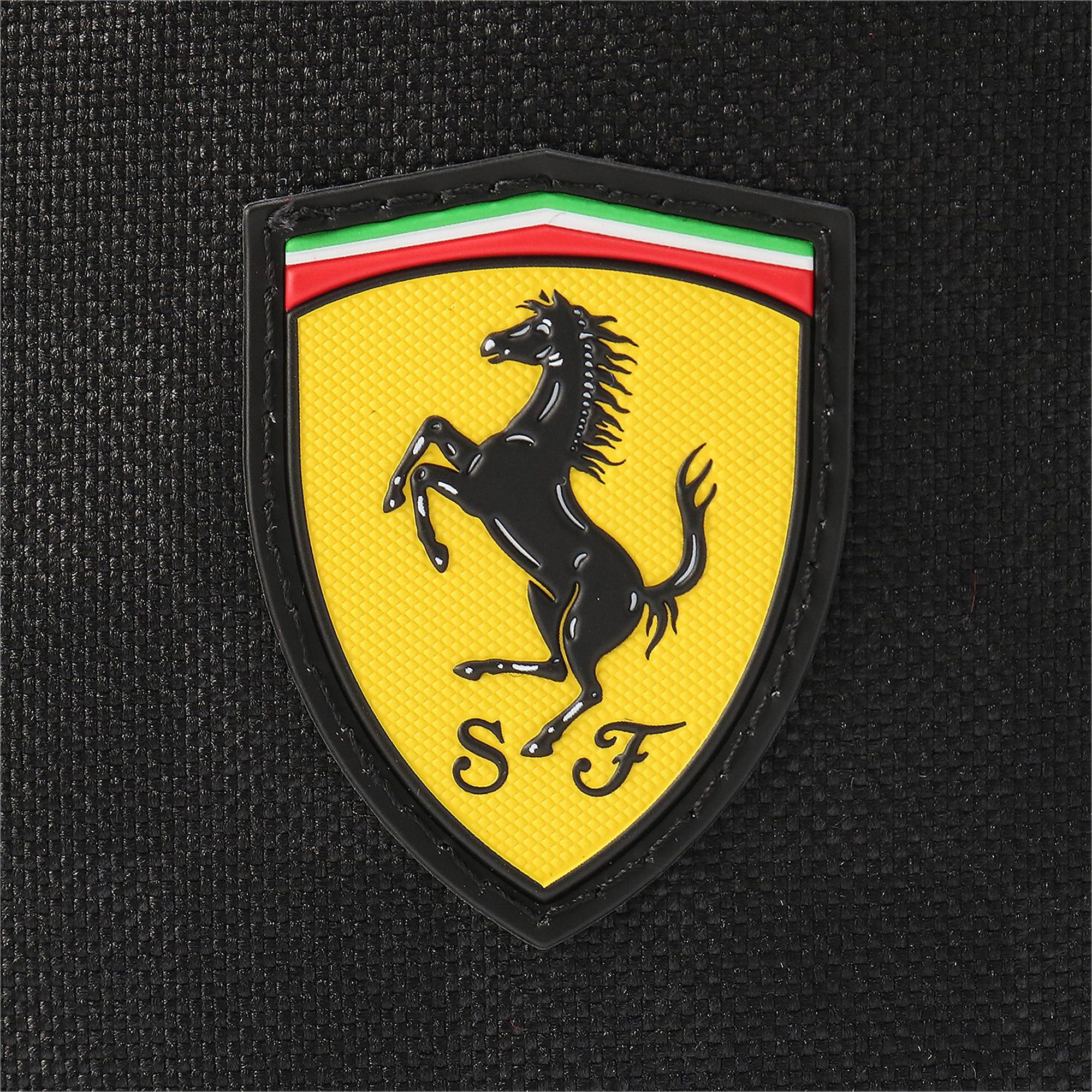 Thumbnail 9 of フェラーリ ファンウェア シリング バッグ 7L, Puma Black-Rosso Corsa, medium-JPN