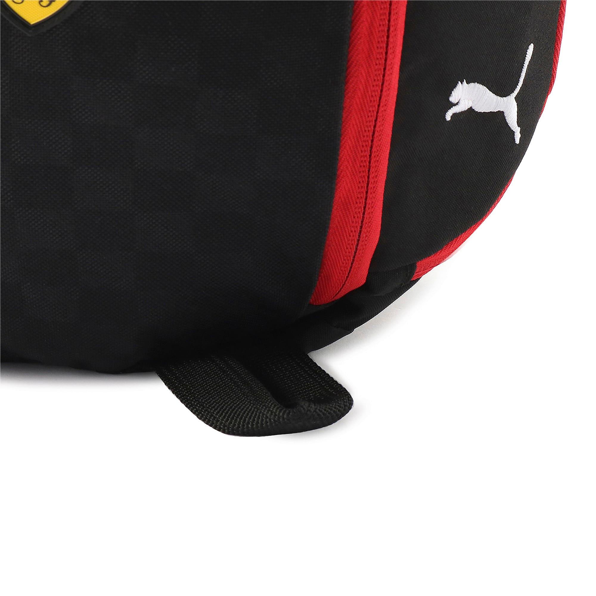 Thumbnail 12 of フェラーリ ファンウェア シリング バッグ 7L, Puma Black-Rosso Corsa, medium-JPN