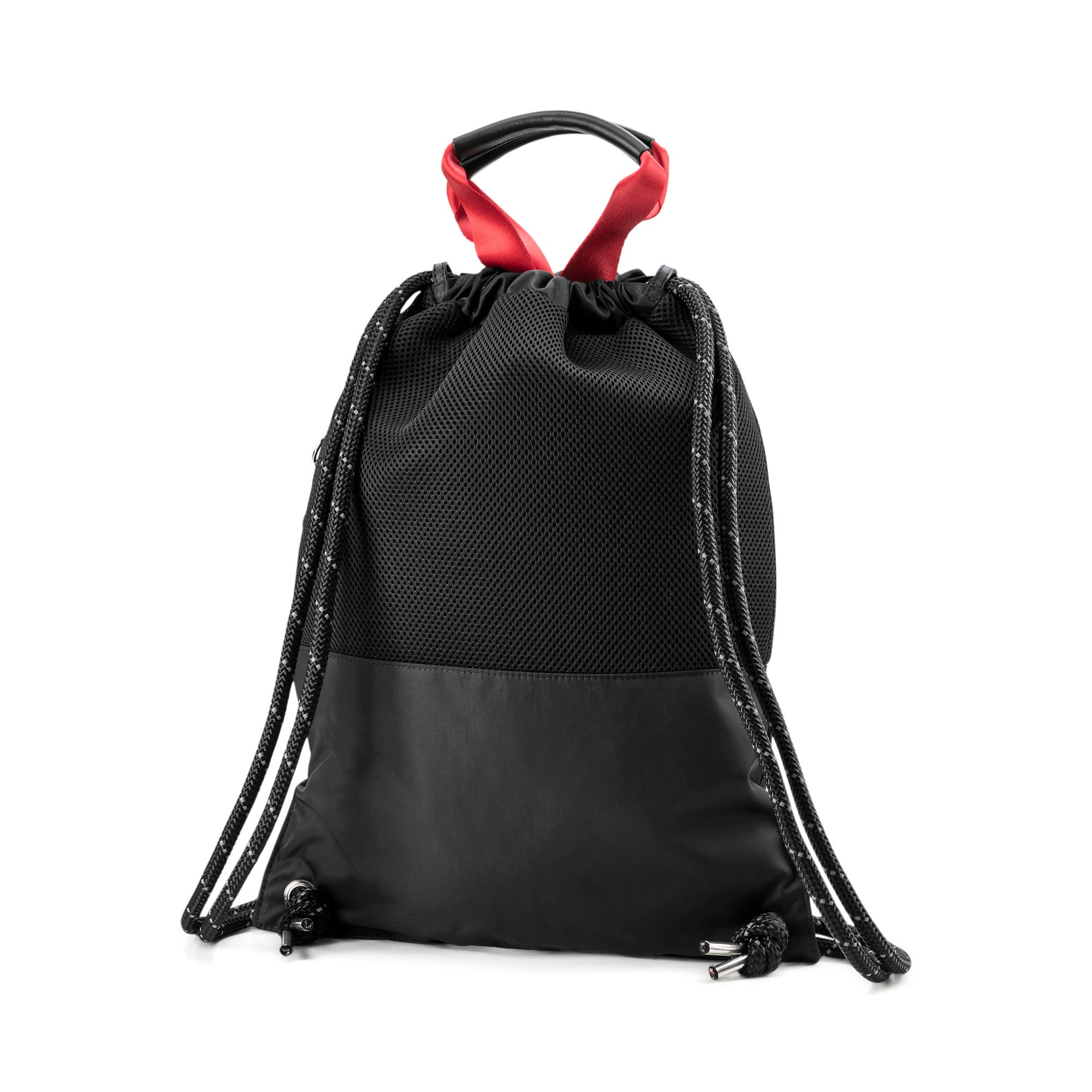 Thumbnail 4 of PUMA x KARL LAGERFELD Backpack Tote Bag, Puma Black, medium