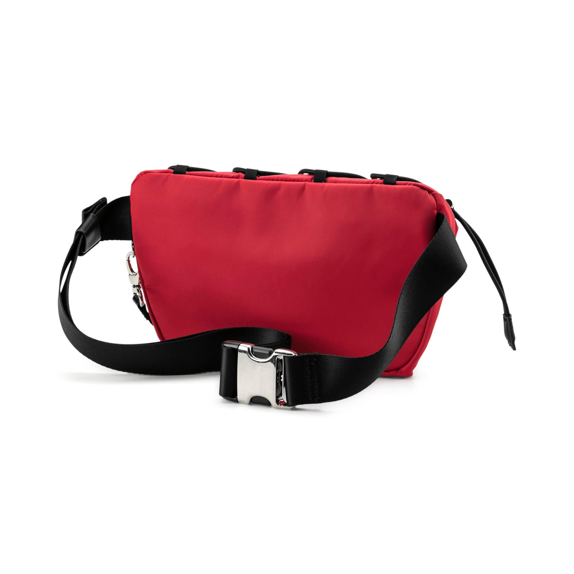 Thumbnail 4 of PUMA x KARL LAGERFELD Waist Bag, High Risk Red-Puma Black, medium