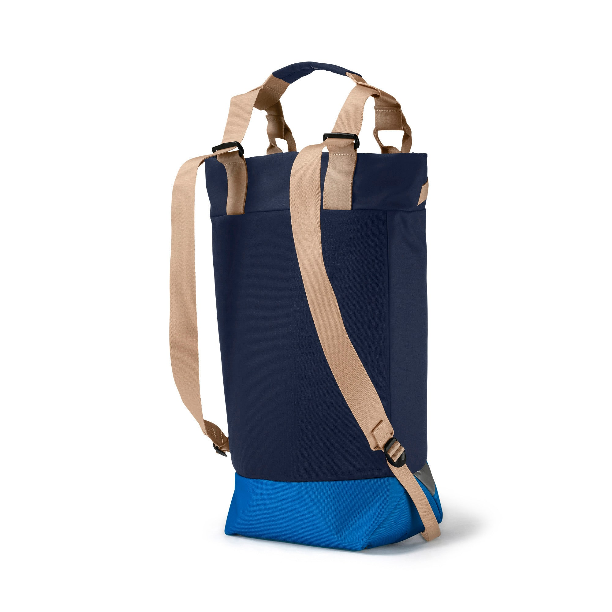 Thumbnail 2 of Olympique de Marseille Premium Tote Backpack, Peacoat-Bleu Azur-Beige, medium-IND