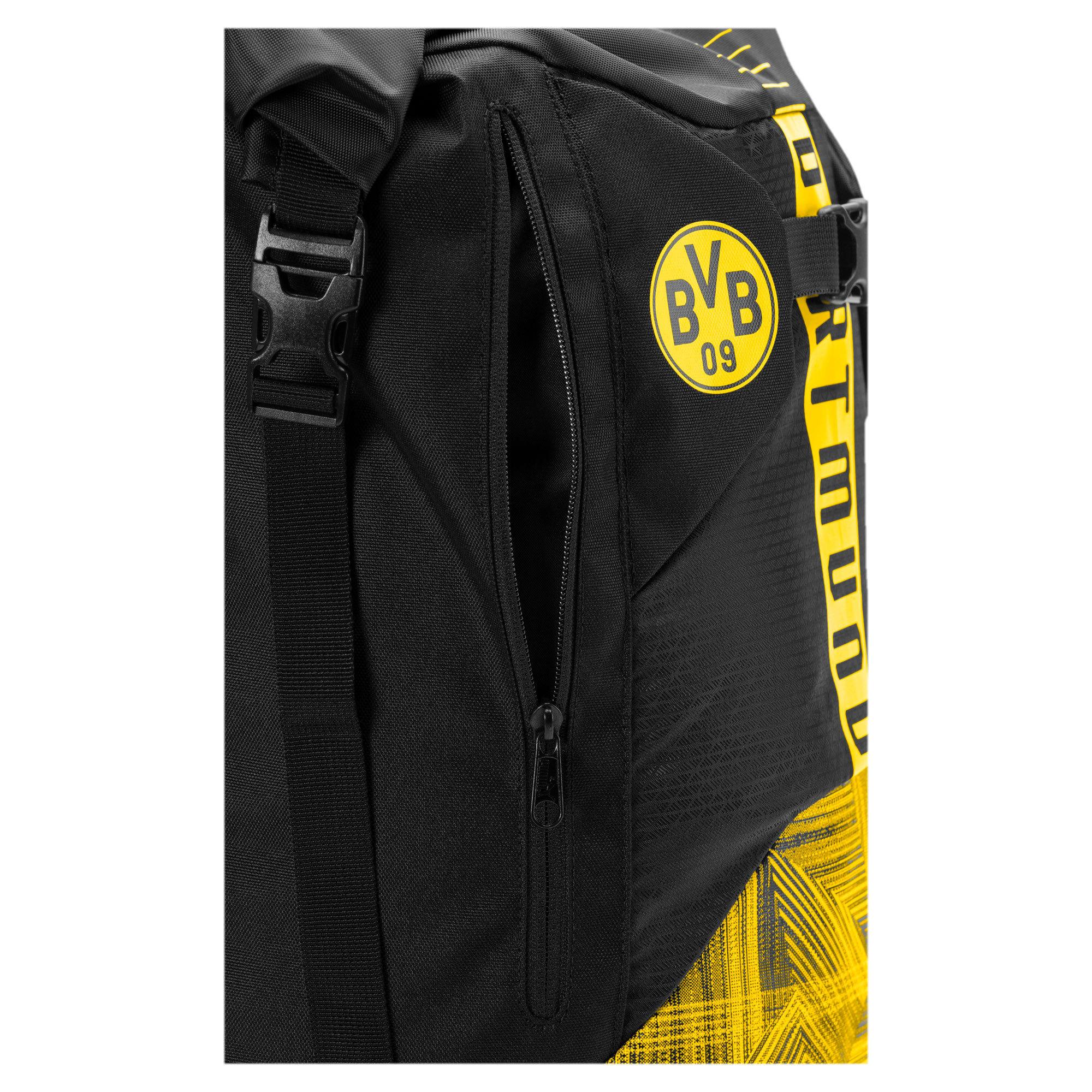 Thumbnail 3 of BVB Football Culture Rucksack, Puma Black-Cyber Yellow, medium