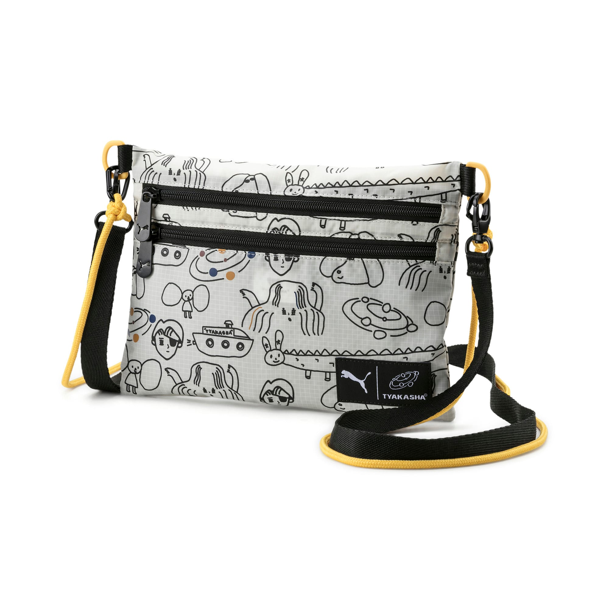 Thumbnail 1 of PUMA x TYAKASHA Small Shoulder Bag, Marshmallow, medium