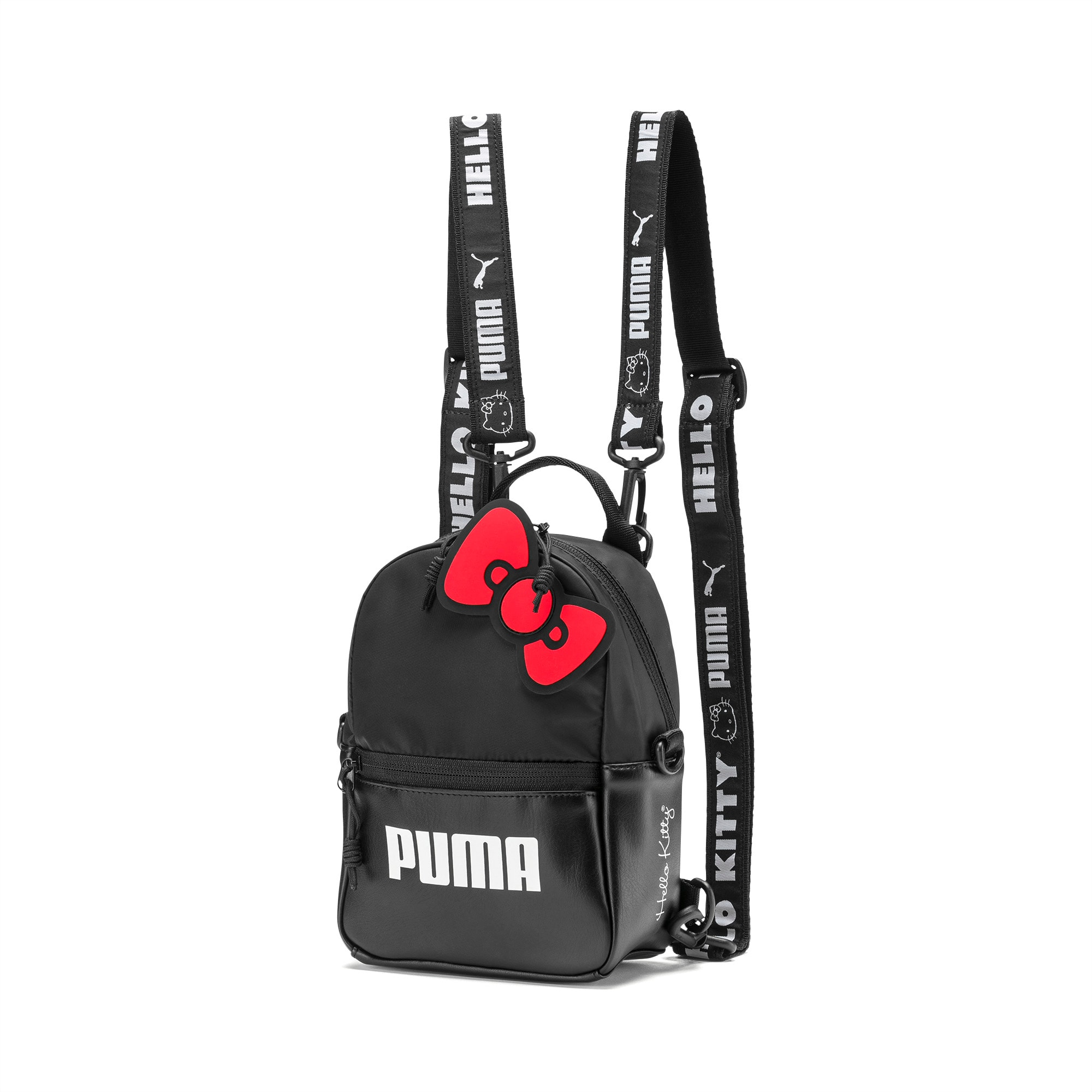 Hello Kitty Sports Sackpack Red//Black