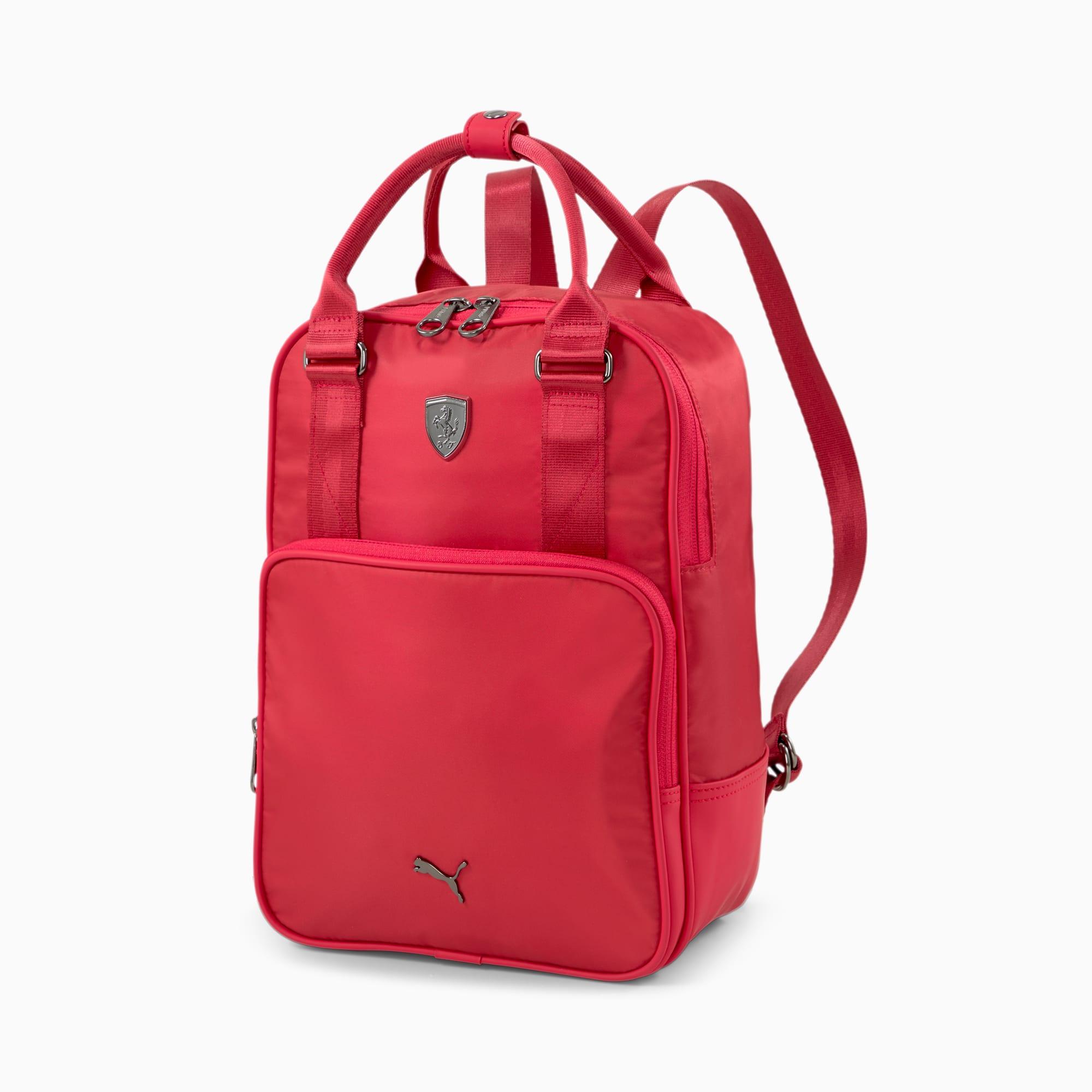 Scuderia Ferrari Women's Backpack, American Beauty, extralarge