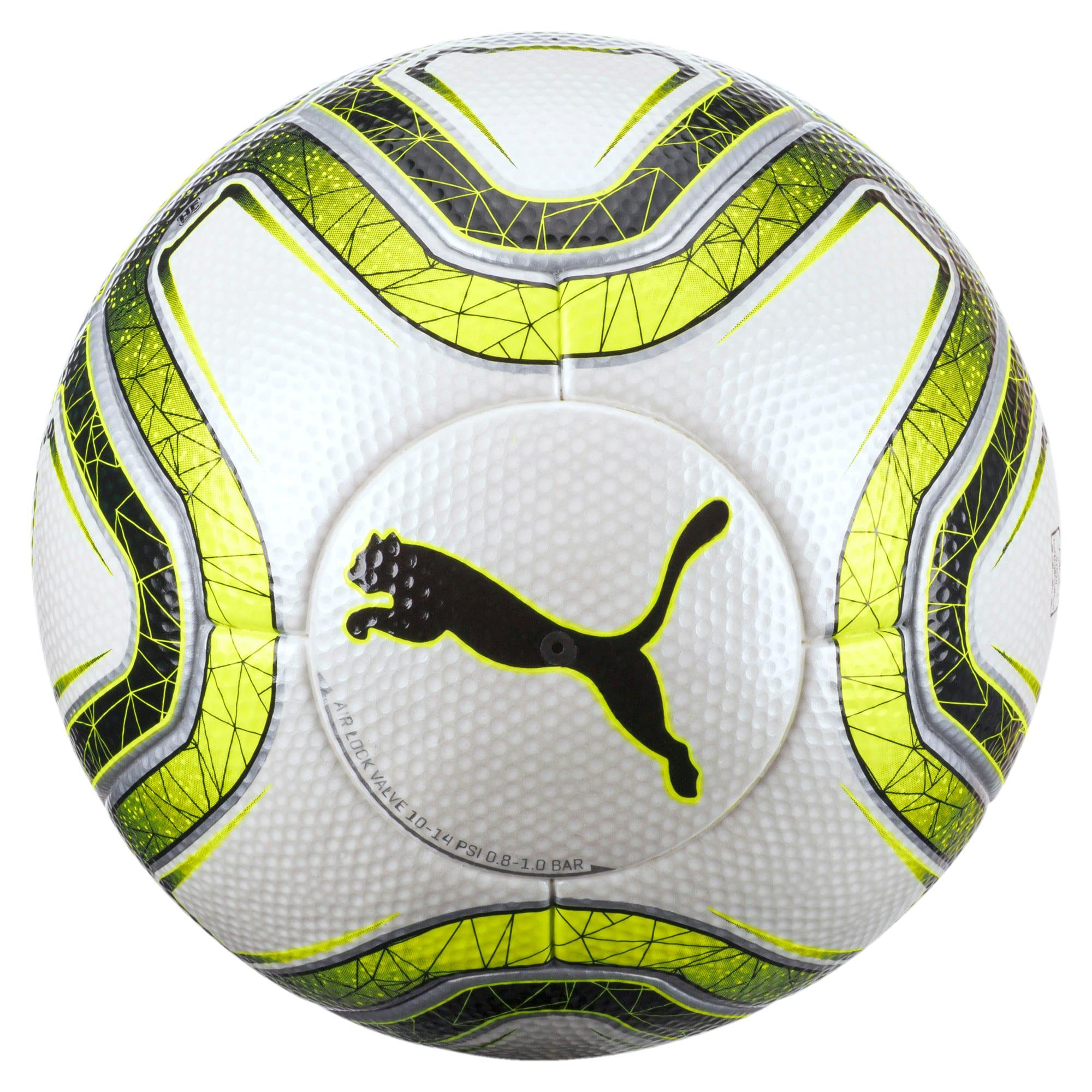 Thumbnail 2 of FINAL 1 Statement FIFA Q Pro Match Soccer, White-Lemon Tonic-Black, medium