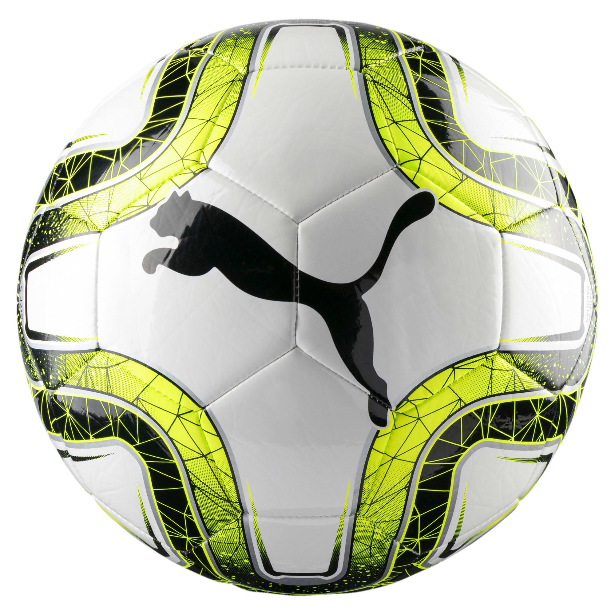 Thumbnail 1 of FINAL 6 MS Training Football, White-Lemon Tonic-Black, medium