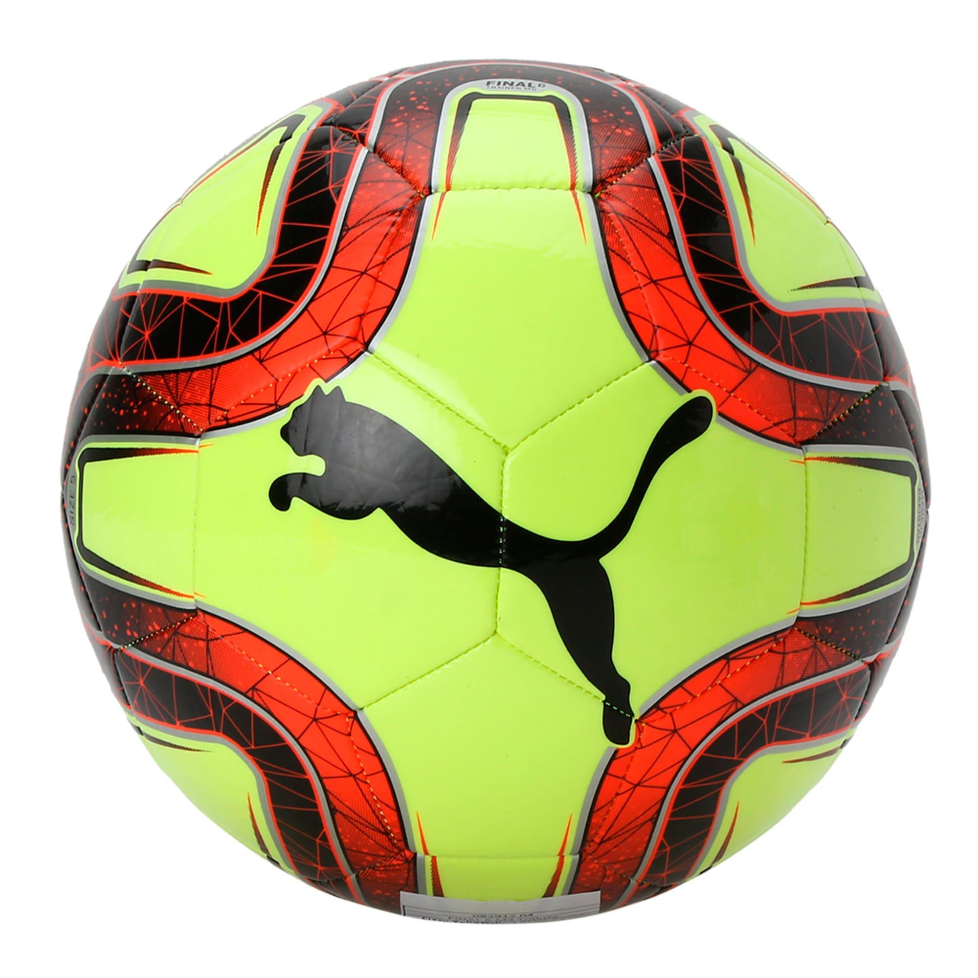 Thumbnail 1 of FINAL 6 MS Training Football, Fizzy Yellow-Red Blast-Black, medium-IND