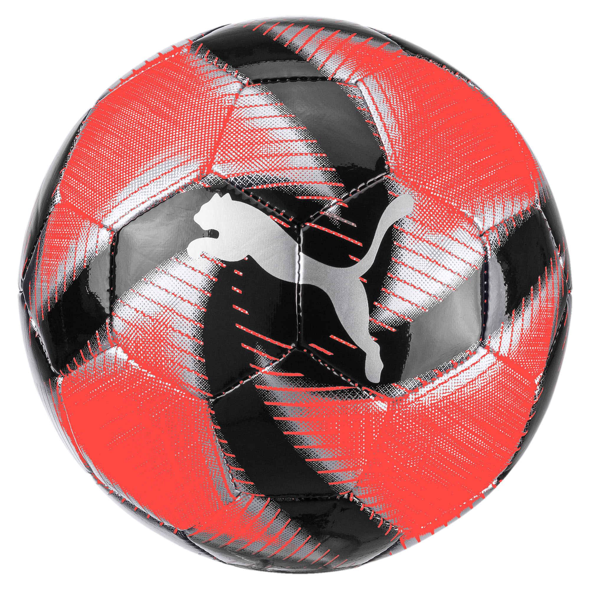 Thumbnail 1 of FUTURE Flare Mini Training Ball, Nrgy Red-Asphalt-Black-White, medium