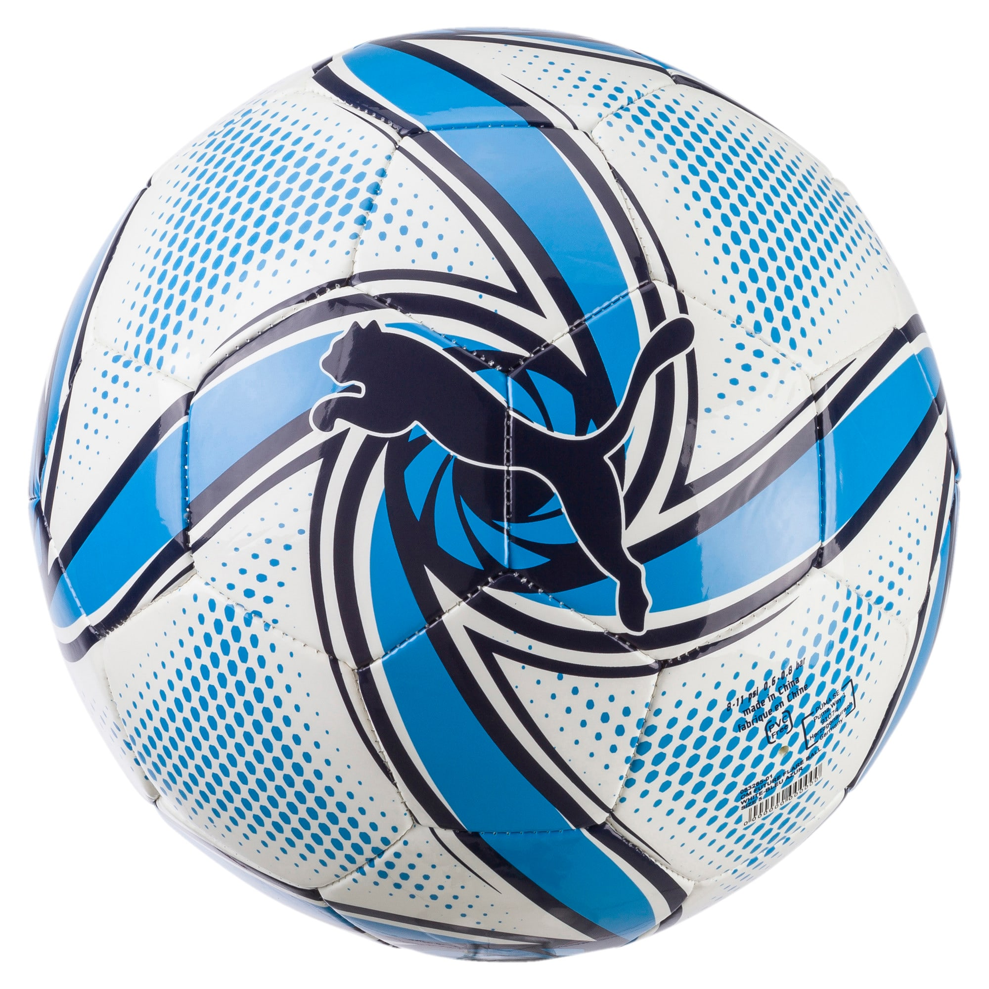 Thumbnail 1 of Olympique de Marseille FUTURE Flare Ball, Puma White-Bleu Azur, medium