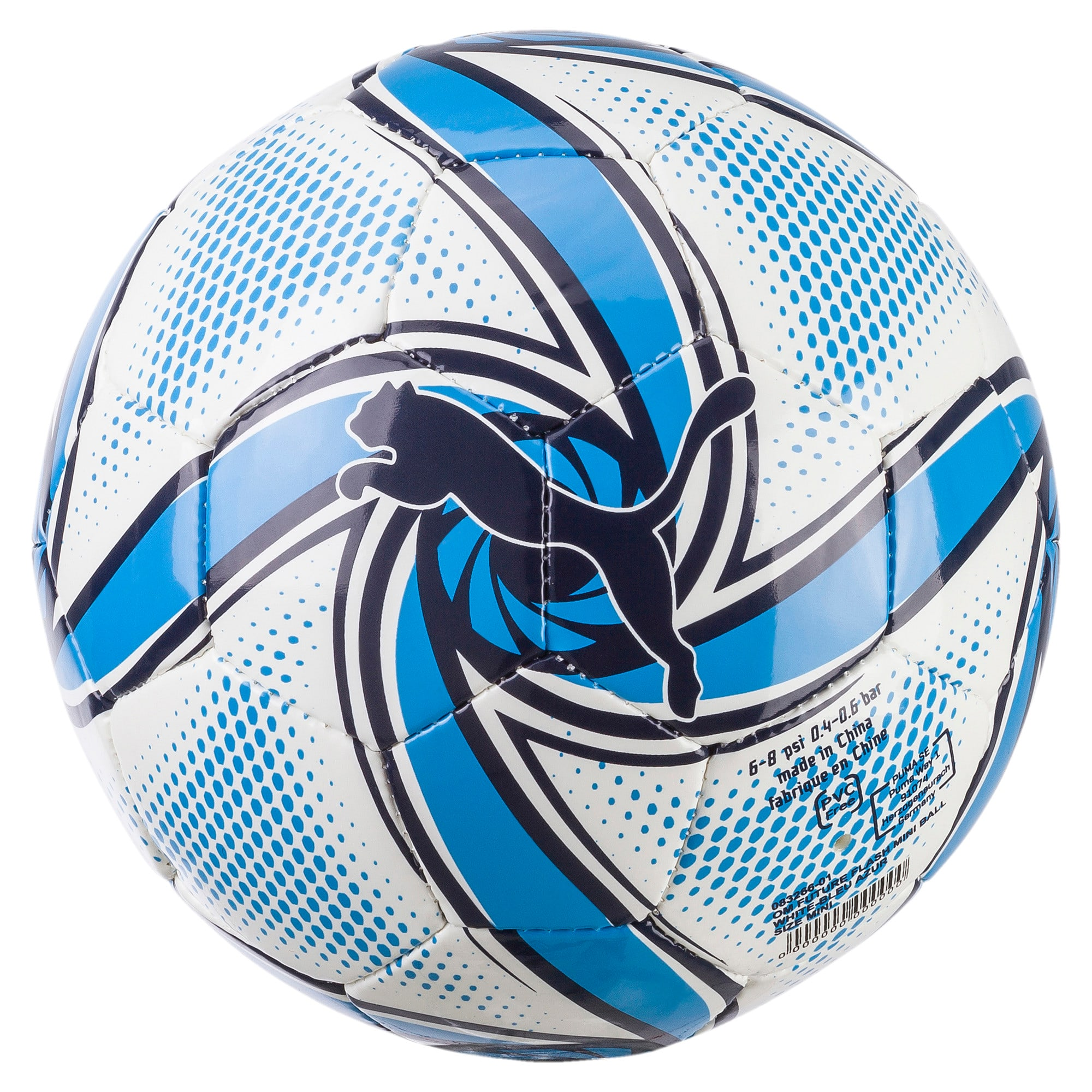Thumbnail 1 van Olympique de Marseille FUTURE Flare minibal, Puma White-Bleu Azur, medium