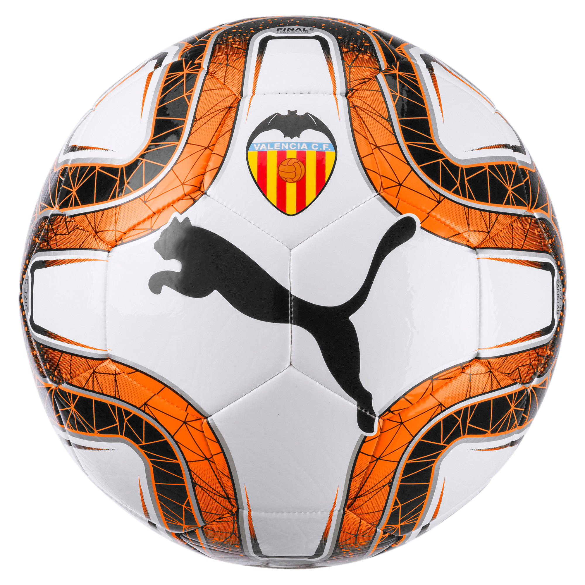 Thumbnail 1 of Valencia CF FINAL 6 Ball, Puma White-Puma Black, medium