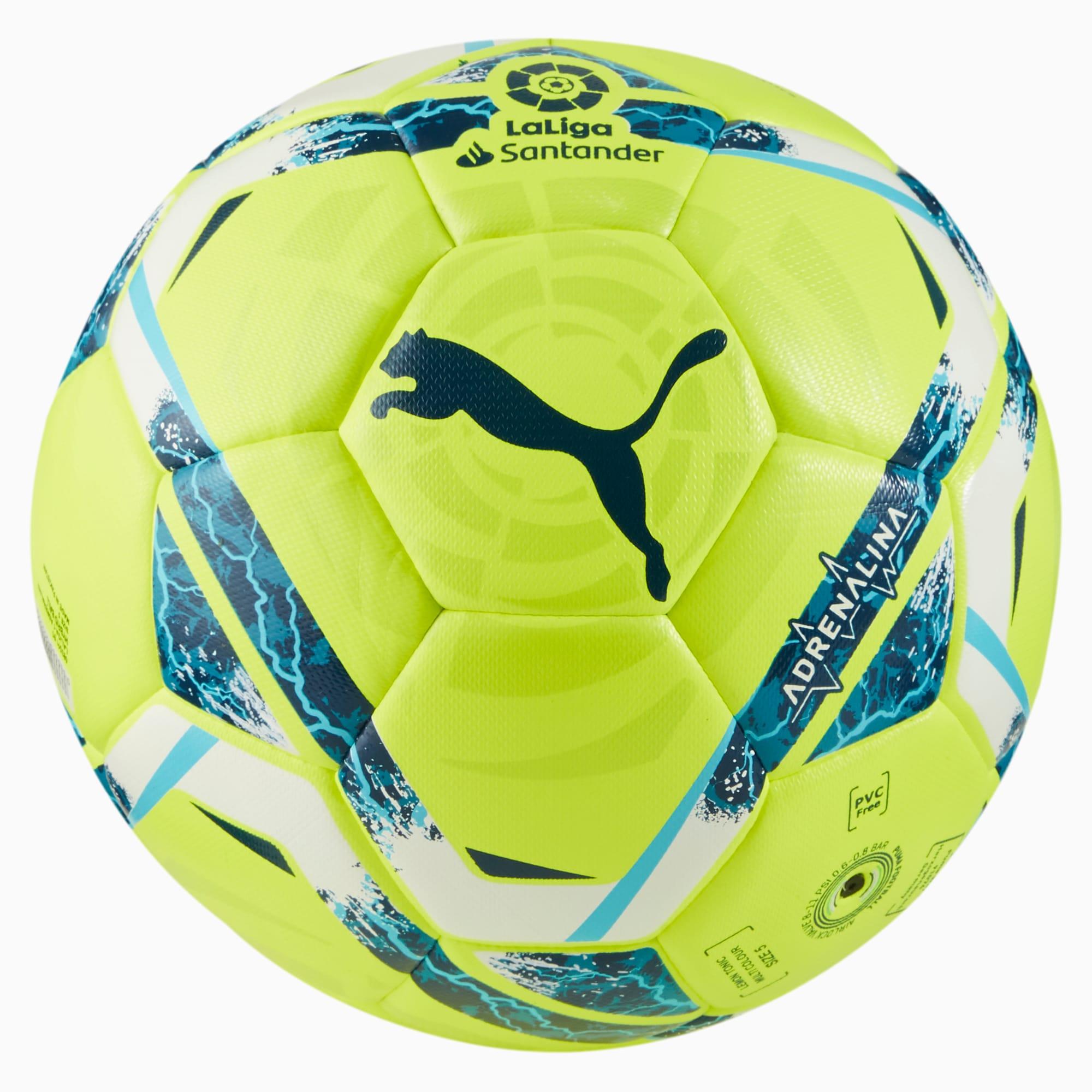 La Liga Adrenalina Hybrid Match Ball   Lemon Tonic-multi colour ...