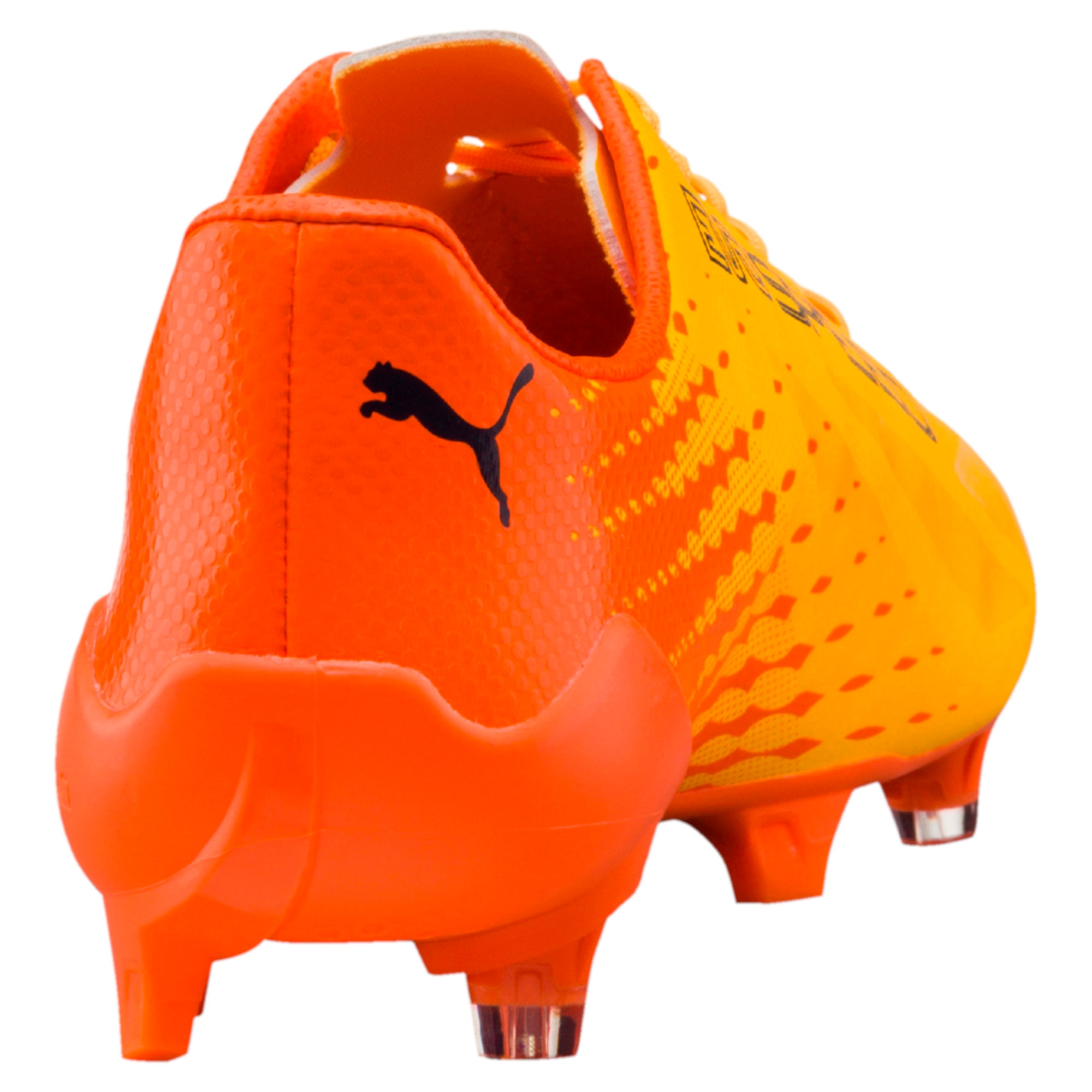 Thumbnail 3 of evoSPEED 17 SL-S FG Men's Football Boots, YELLOW-Peacoat-Orange, medium-IND