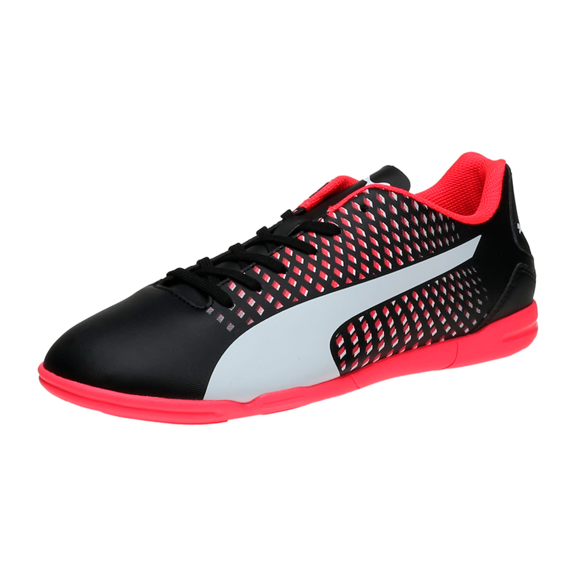 Thumbnail 1 of Adreno III IT Men's Indoor Training Shoes, black-white-plasma, medium-IND