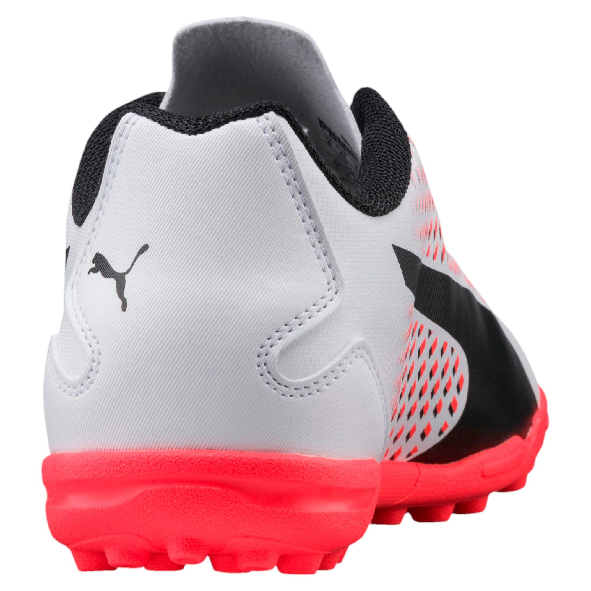 Thumbnail 3 of Adreno III TT Men's Football Boots, White-Black-Coral, medium-IND