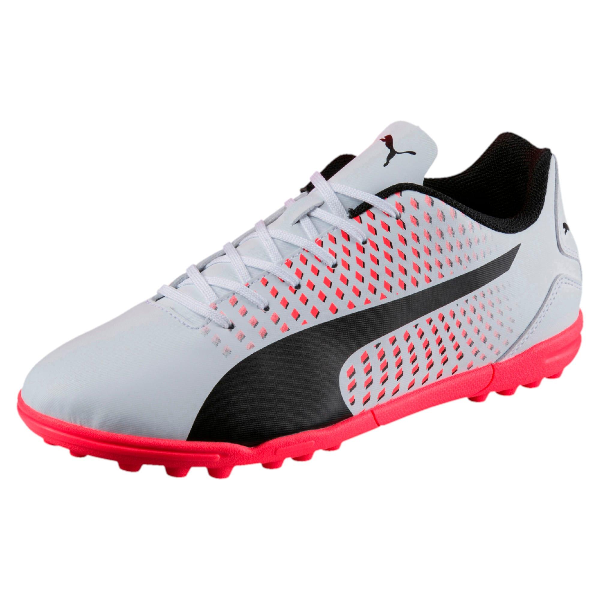 Thumbnail 1 of Adreno III TT Men's Football Boots, White-Black-Coral, medium-IND