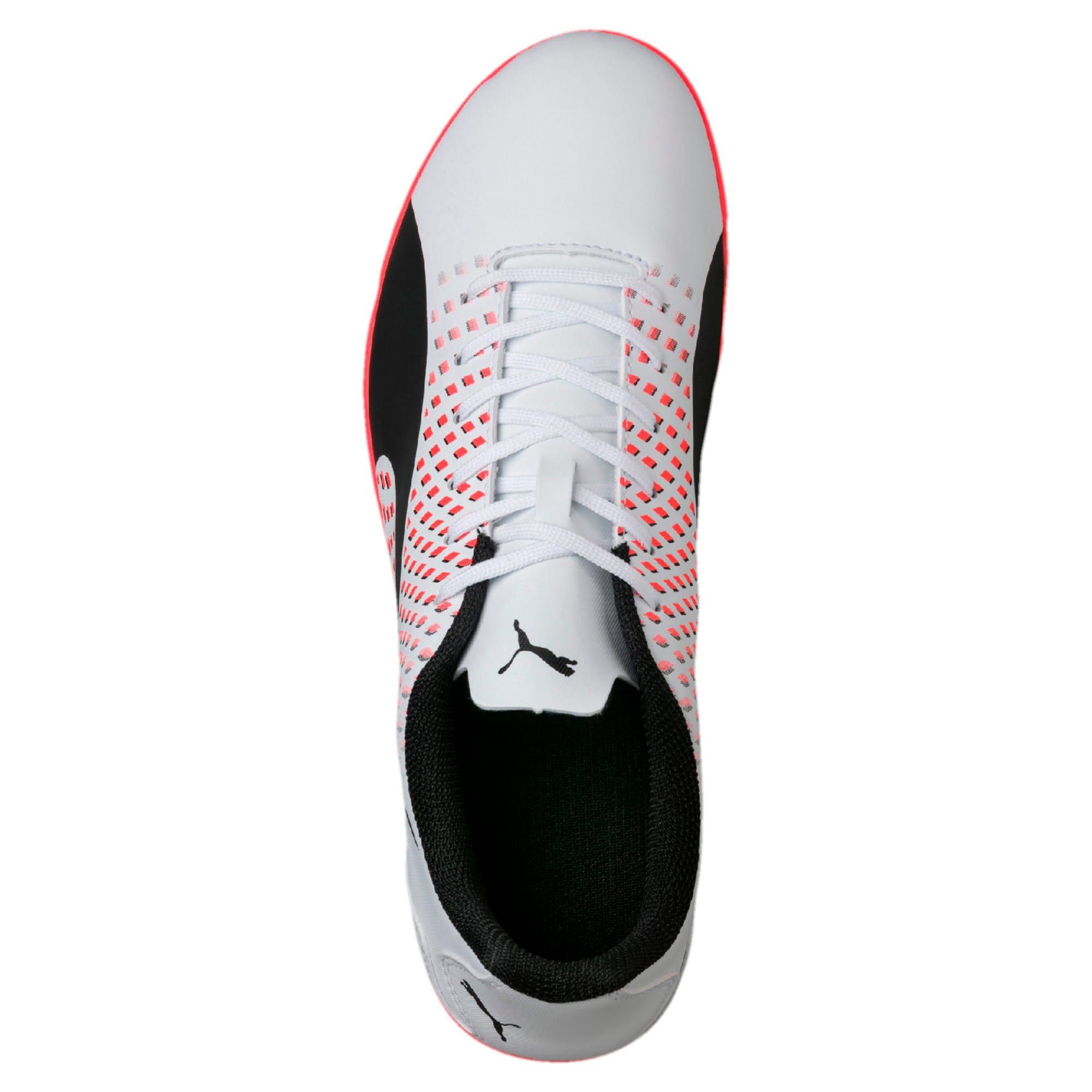 Thumbnail 4 of Adreno III TT Men's Football Boots, White-Black-Coral, medium-IND