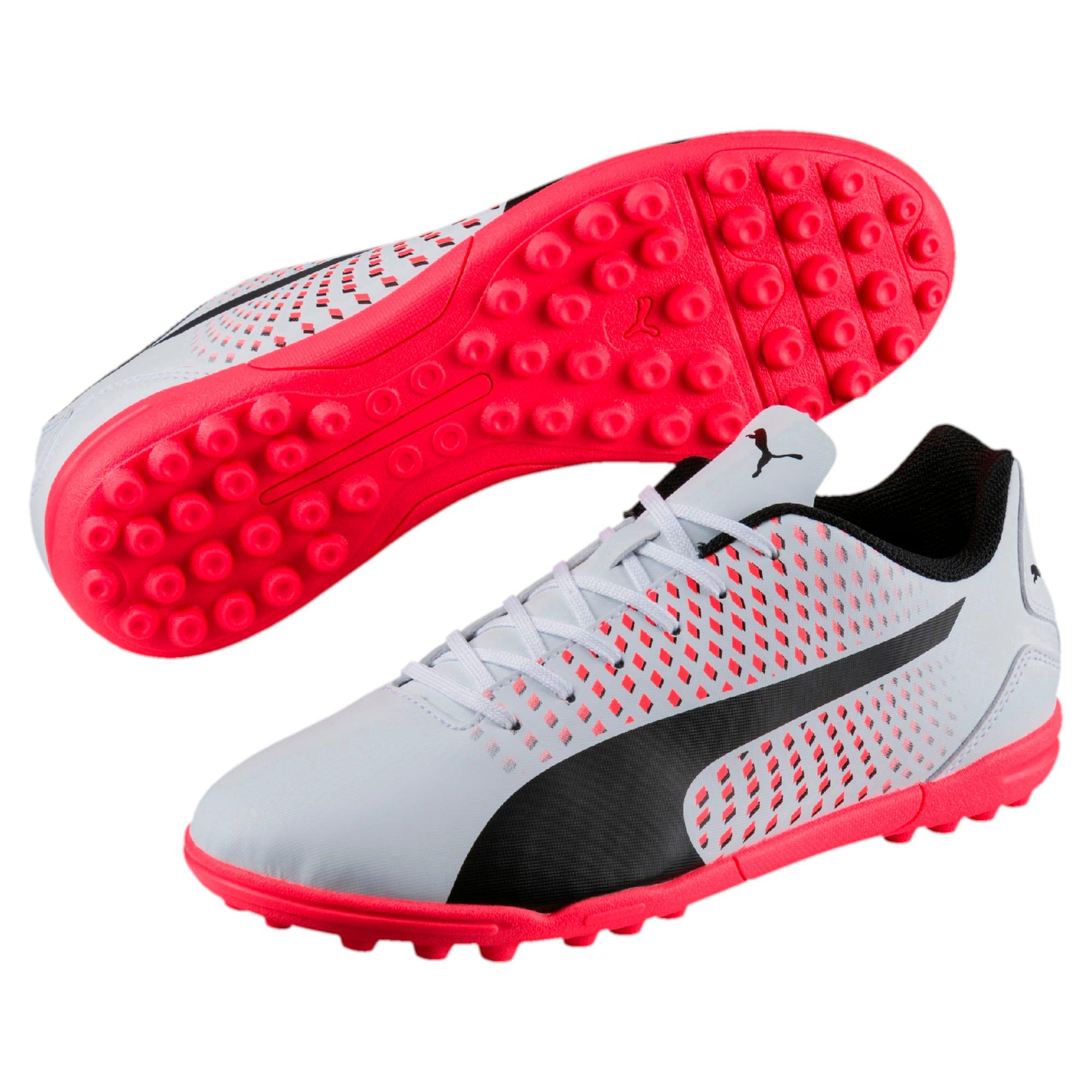 Thumbnail 6 of Adreno III TT Men's Football Boots, White-Black-Coral, medium-IND