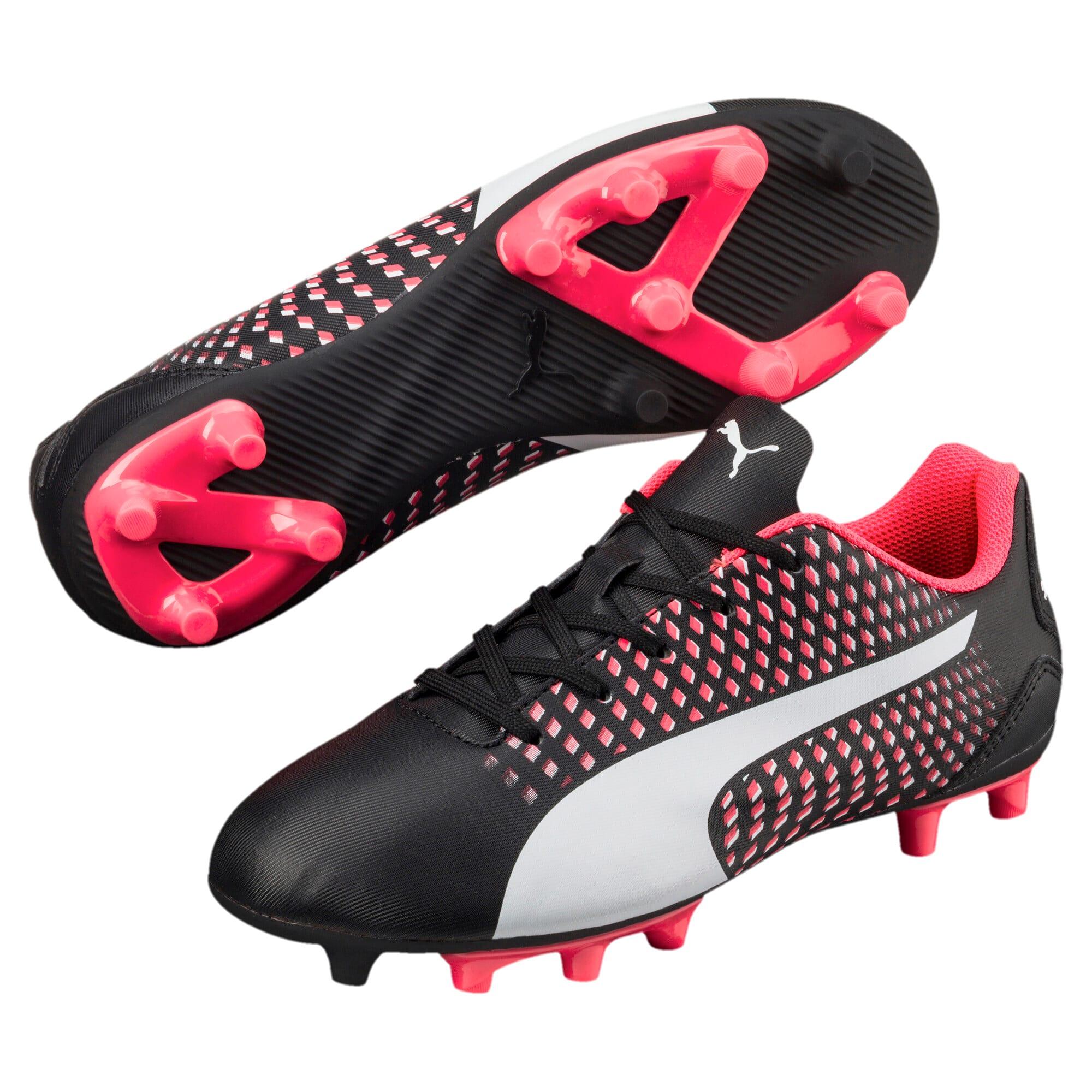Thumbnail 2 of Adreno III FG Kids' Football Boots, black-white-plasma, medium-IND