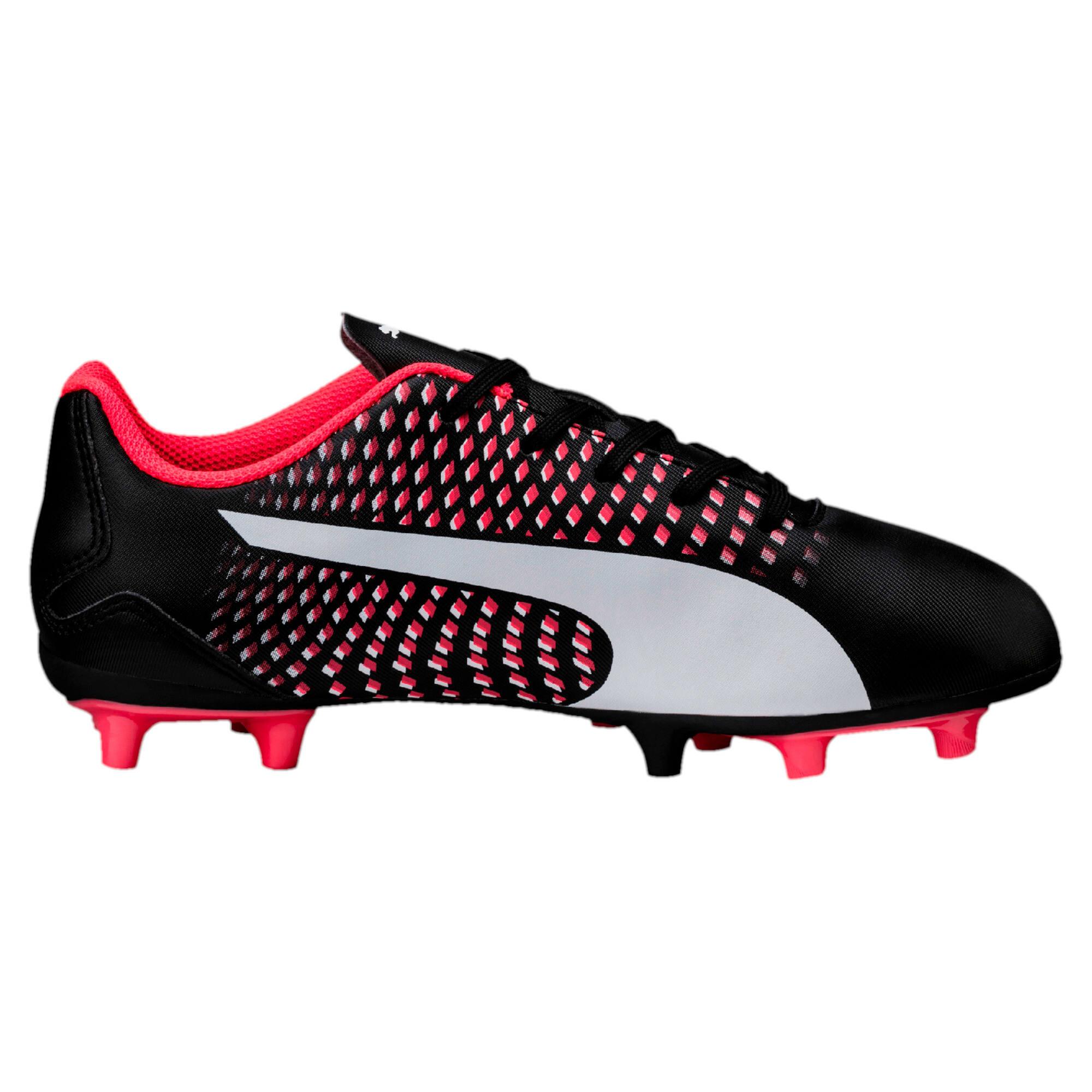 Thumbnail 5 of Adreno III FG Kids' Football Boots, black-white-plasma, medium-IND