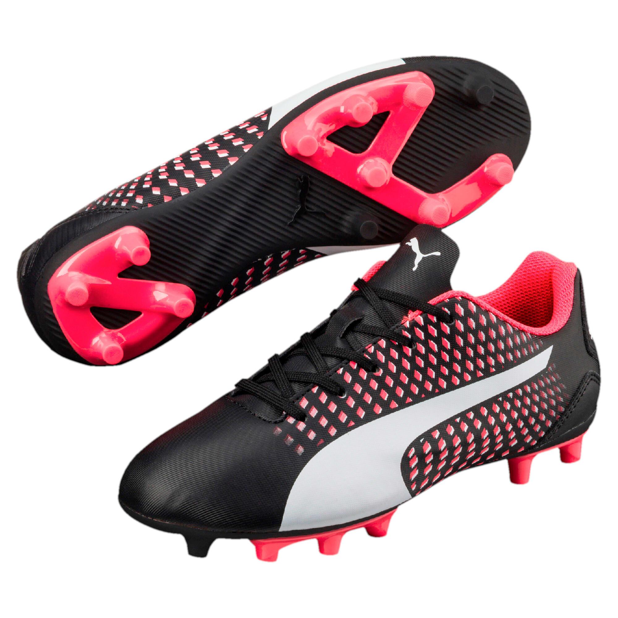 Thumbnail 6 of Adreno III FG Kids' Football Boots, black-white-plasma, medium-IND