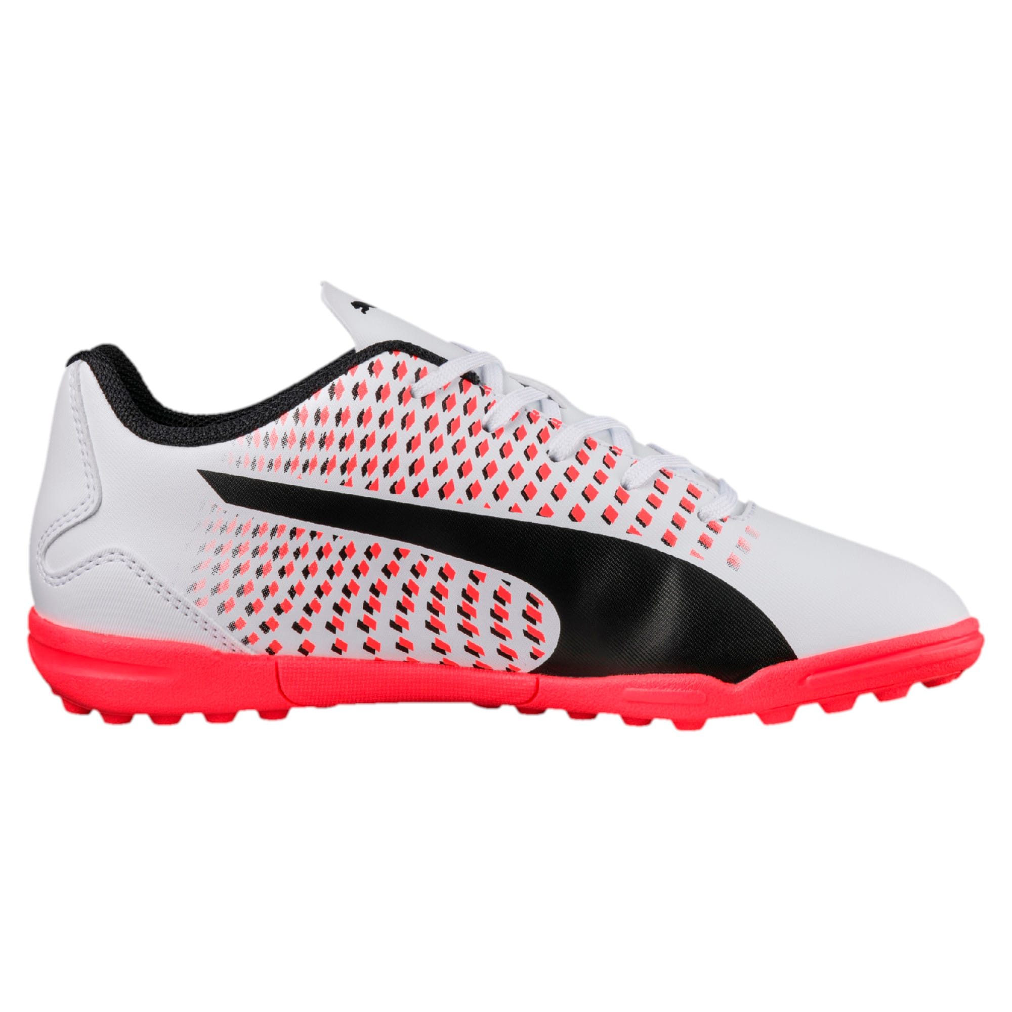 Thumbnail 5 of Adreno III TT Kids' Football Boots, White-Black-Coral, medium-IND
