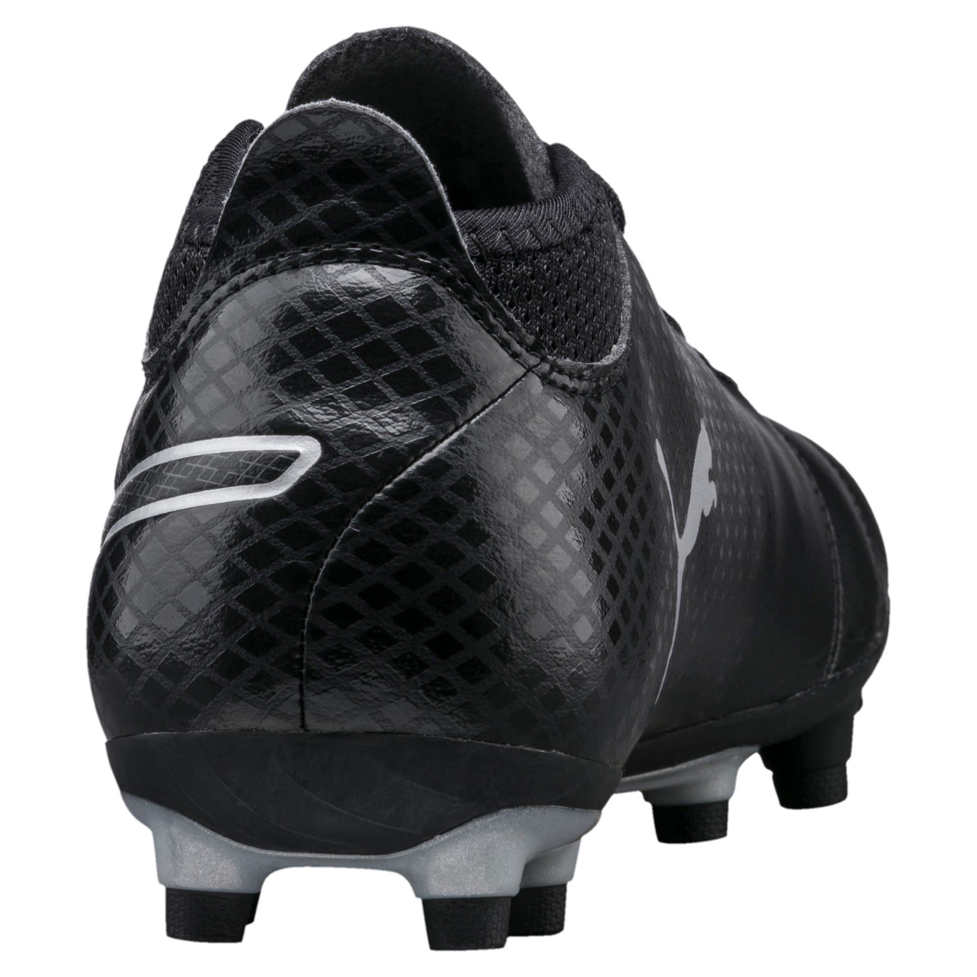 Thumbnail 3 of ONE 17.4 FG Men's Football Boots, Black-Black-Silver, medium-IND