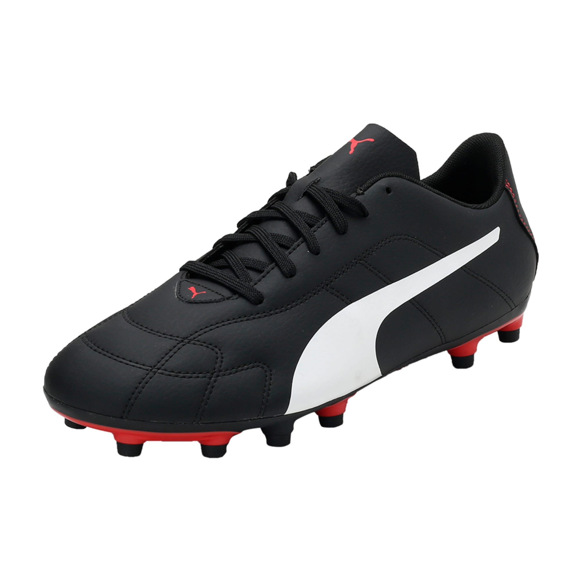 Thumbnail 1 of Classico C Firm Ground Men's Football Boots, Black-White-Red, medium-IND