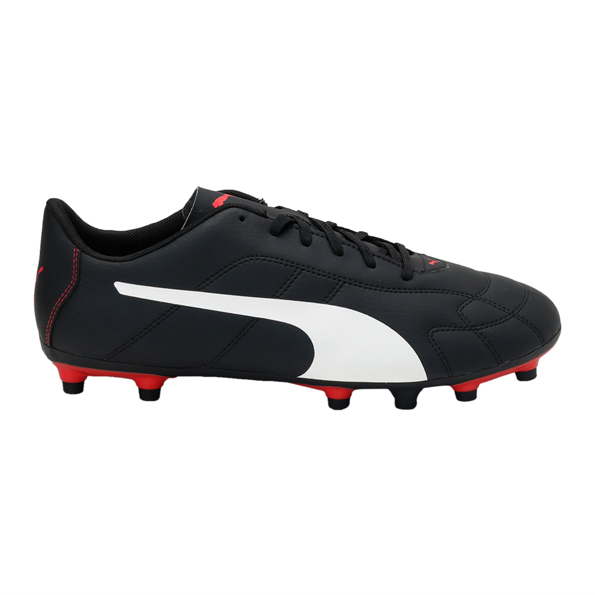 Thumbnail 5 of Classico C Firm Ground Men's Football Boots, Black-White-Red, medium-IND