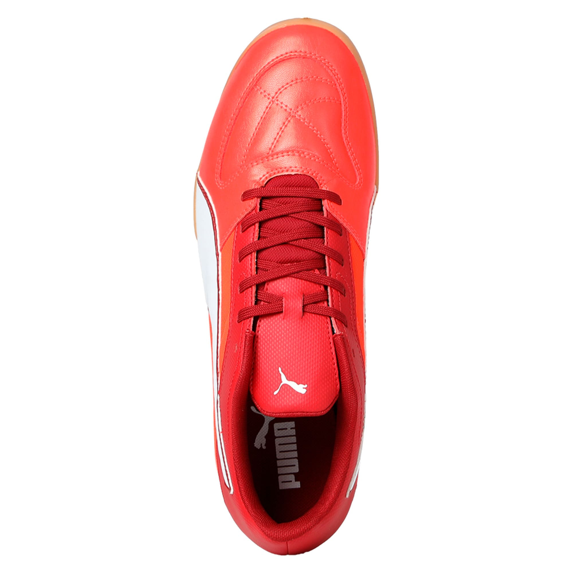 Thumbnail 3 of Gavetto II Men's Futsal Shoes, Red-White-Red Dahlia, medium-IND