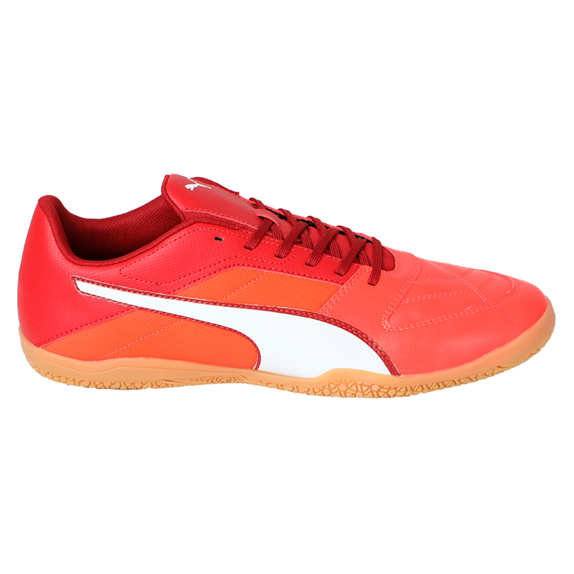 Thumbnail 5 of Gavetto II Men's Futsal Shoes, Red-White-Red Dahlia, medium-IND