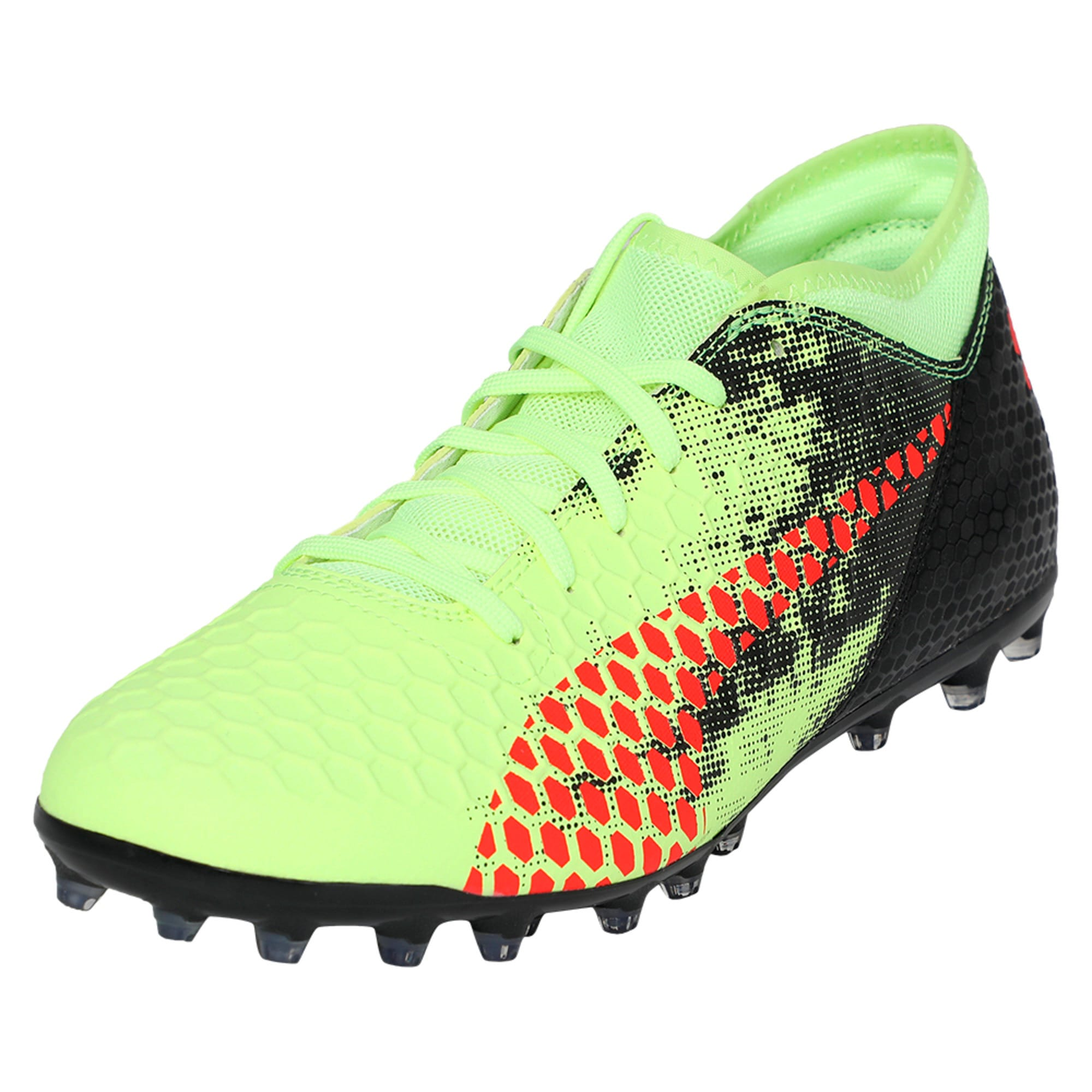 Thumbnail 1 of FUTURE 18.4 MG Men's Football Boots, Yellow-Red-Black, medium-IND