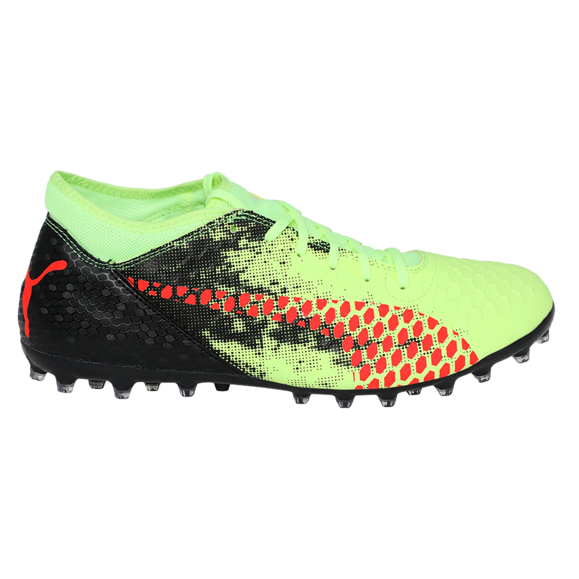 Thumbnail 5 of FUTURE 18.4 MG Men's Football Boots, Yellow-Red-Black, medium-IND