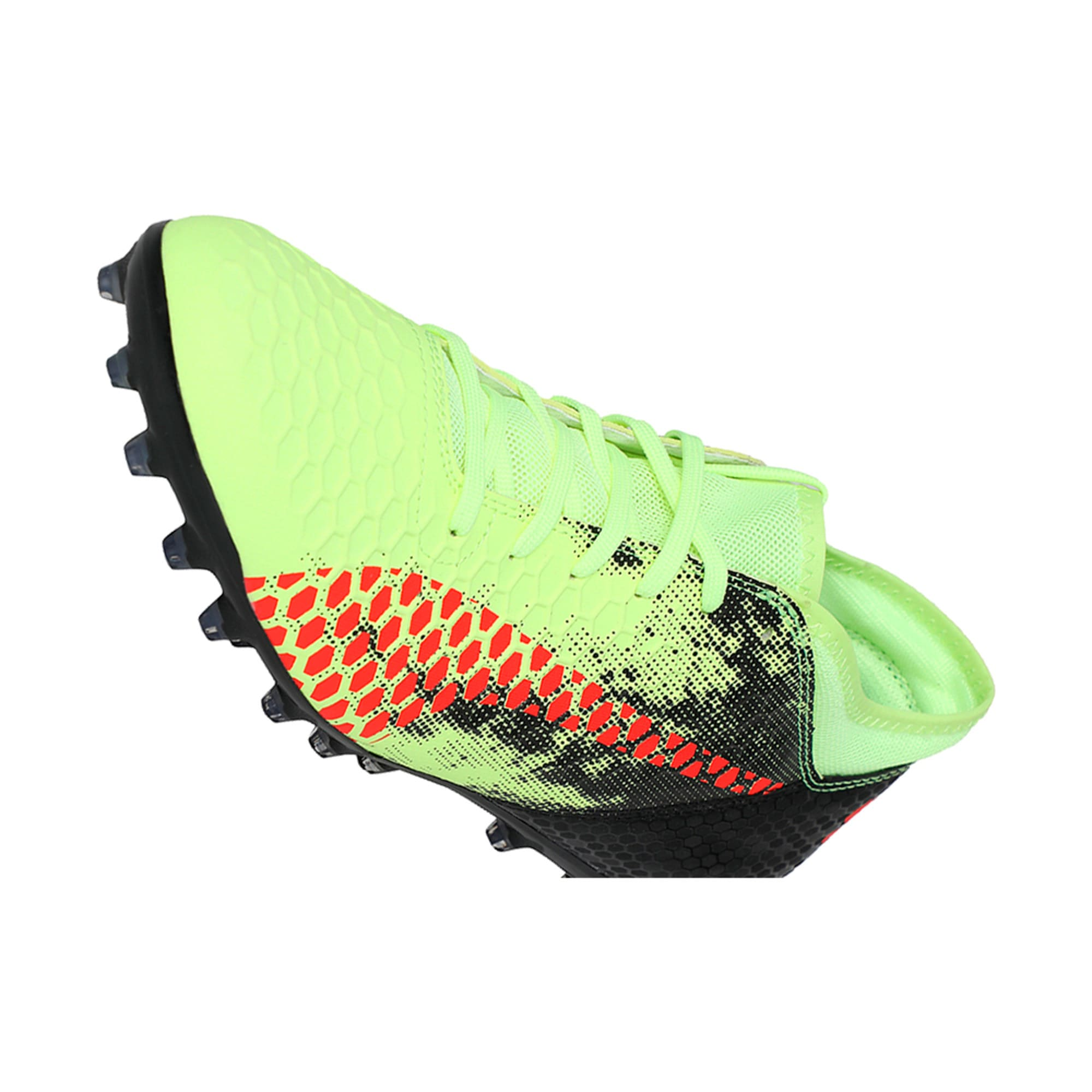 Thumbnail 6 of FUTURE 18.4 MG Men's Football Boots, Yellow-Red-Black, medium-IND