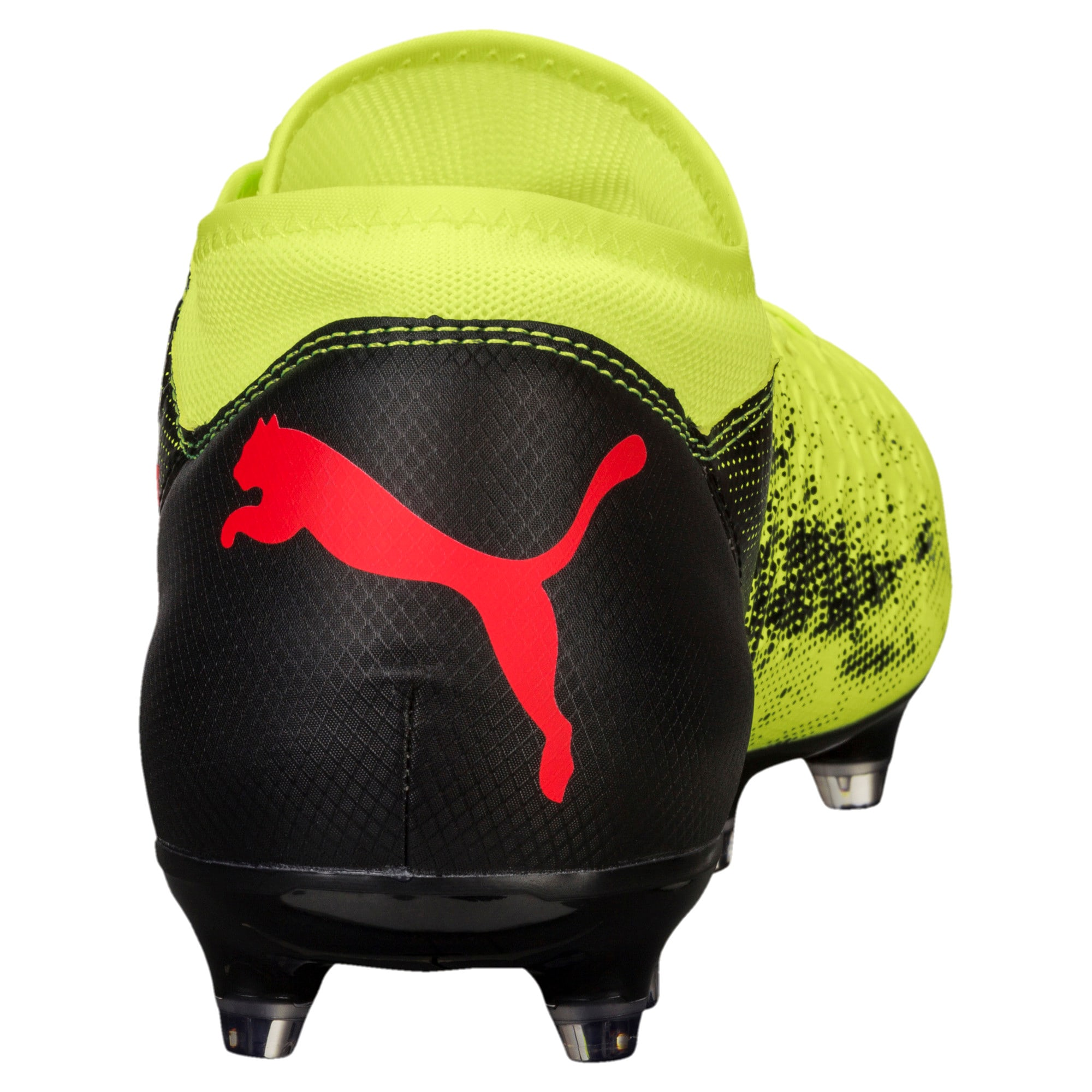 Thumbnail 3 of FUTURE 18.4 FG/AG Men's Football Boots, Yellow-Red-Black, medium-IND