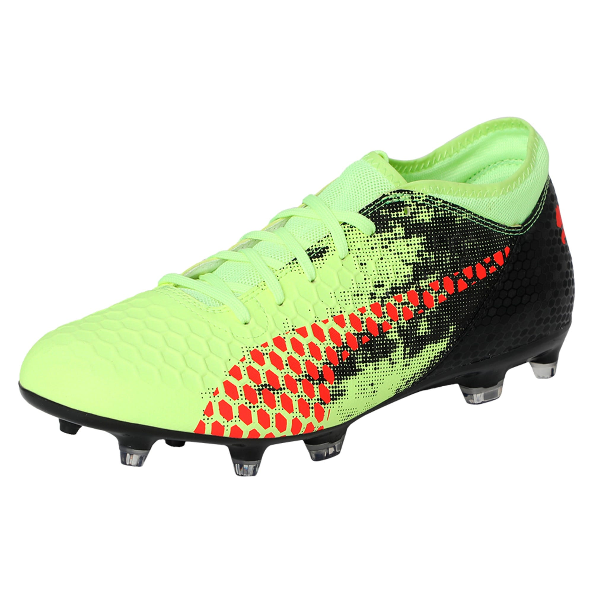 Thumbnail 1 of FUTURE 18.4 FG/AG Men's Football Boots, Yellow-Red-Black, medium-IND