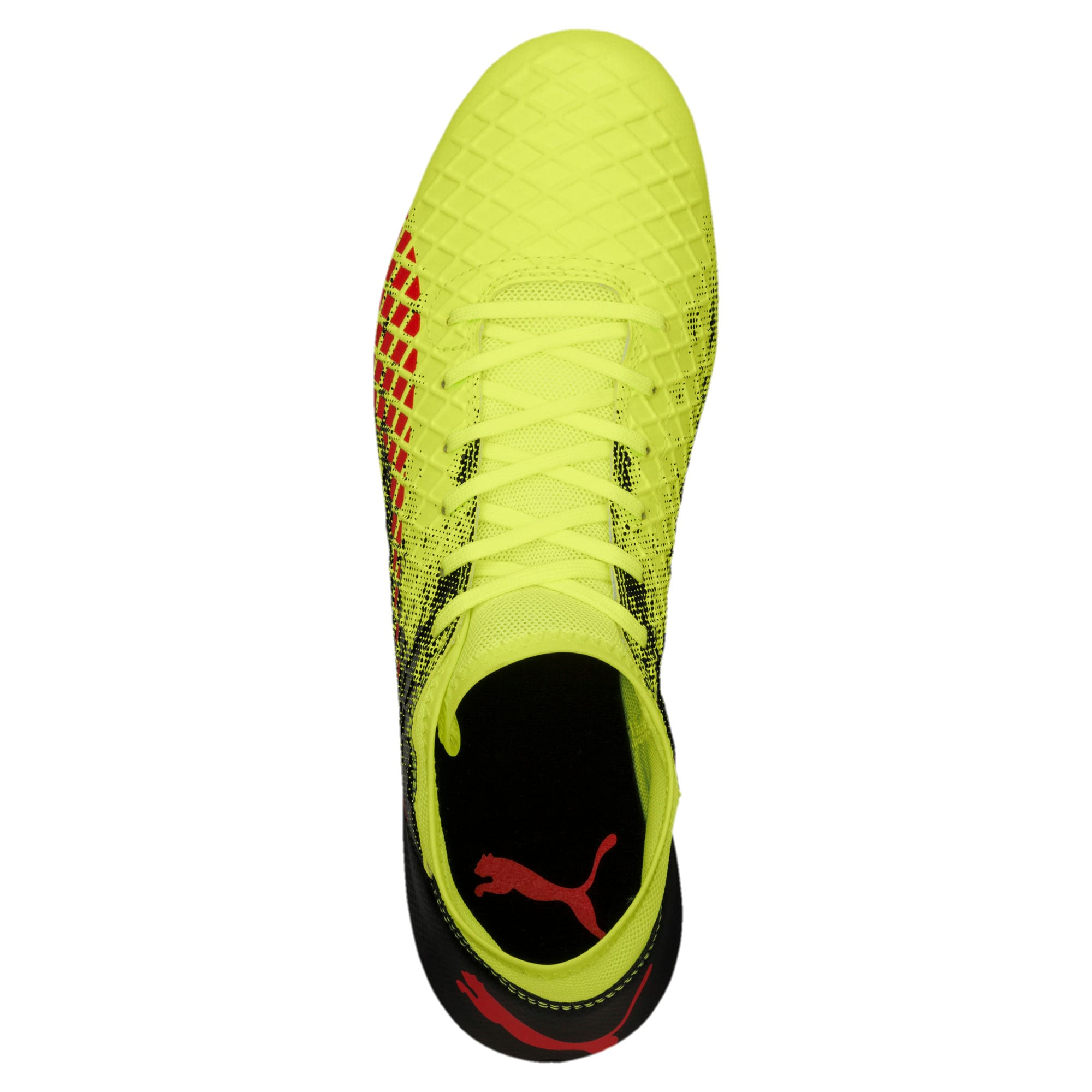Thumbnail 5 of FUTURE 18.4 FG/AG Men's Football Boots, Yellow-Red-Black, medium-IND