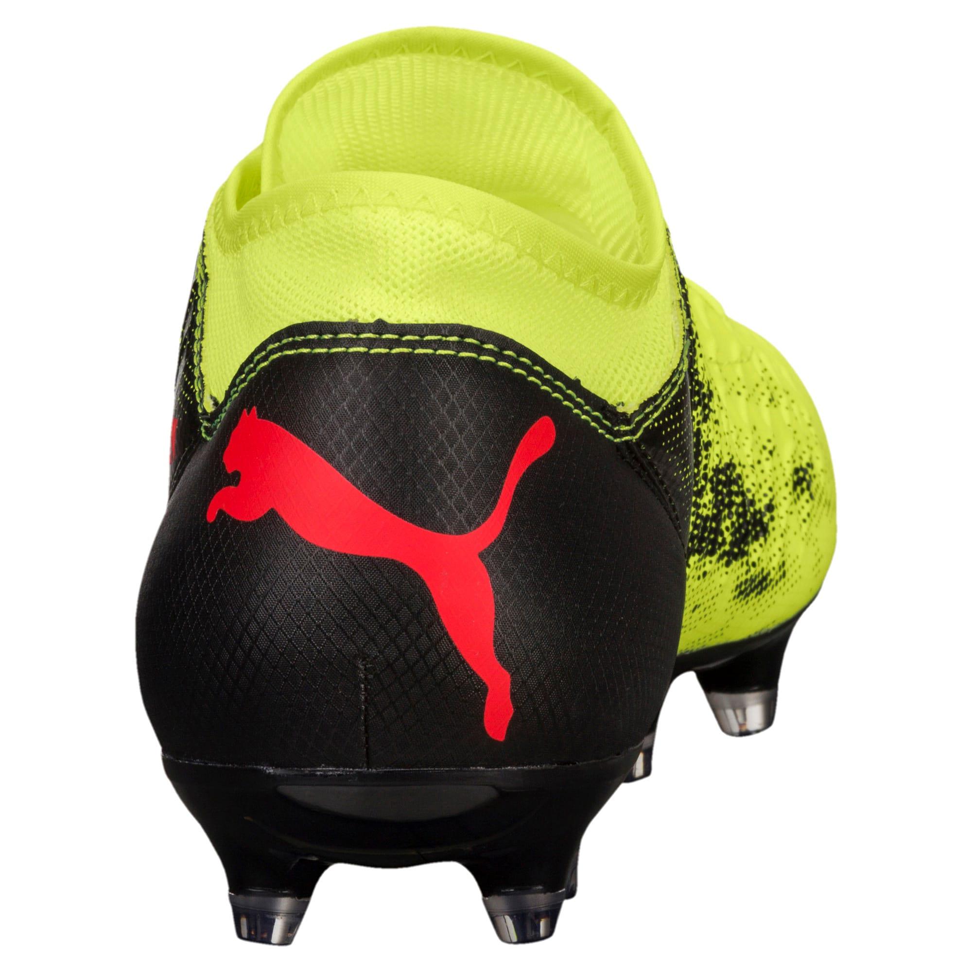 Thumbnail 3 of FUTURE 18.4 FG/AG Jr Football Boots, Yellow-Red-Black, medium-IND