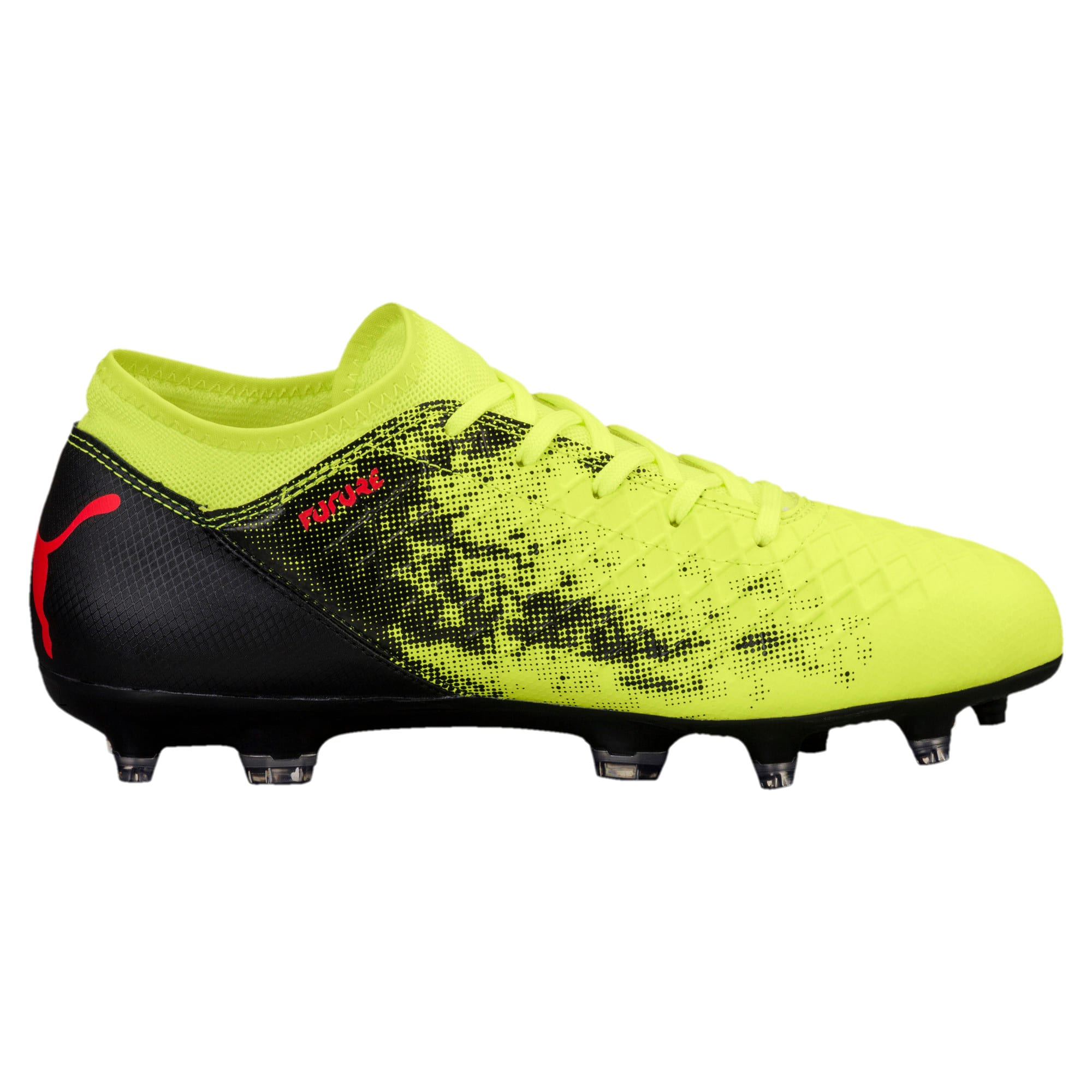 Thumbnail 4 of FUTURE 18.4 FG/AG Jr Football Boots, Yellow-Red-Black, medium-IND